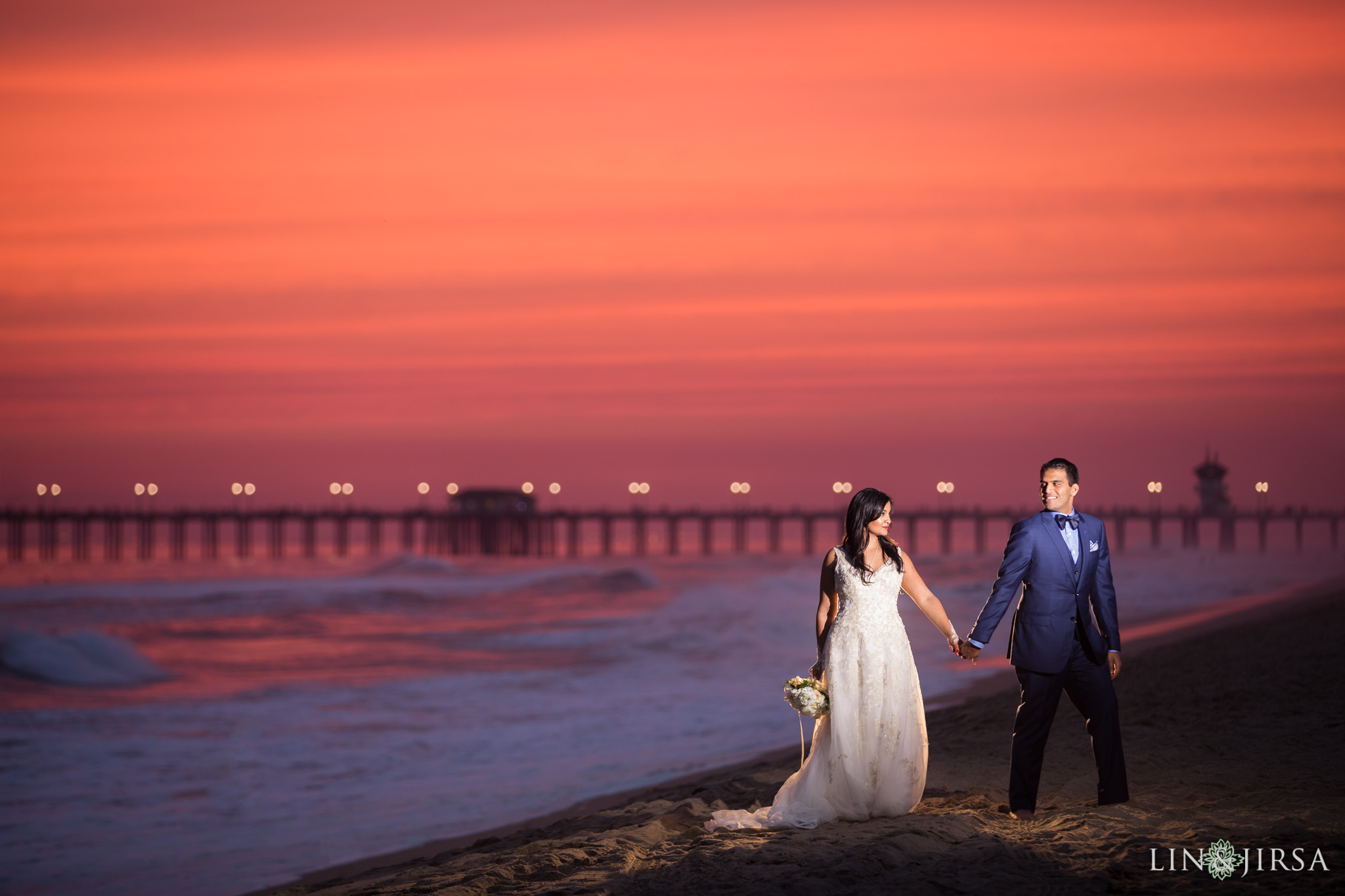 28 hyatt regency huntington beach sunset wedding photography