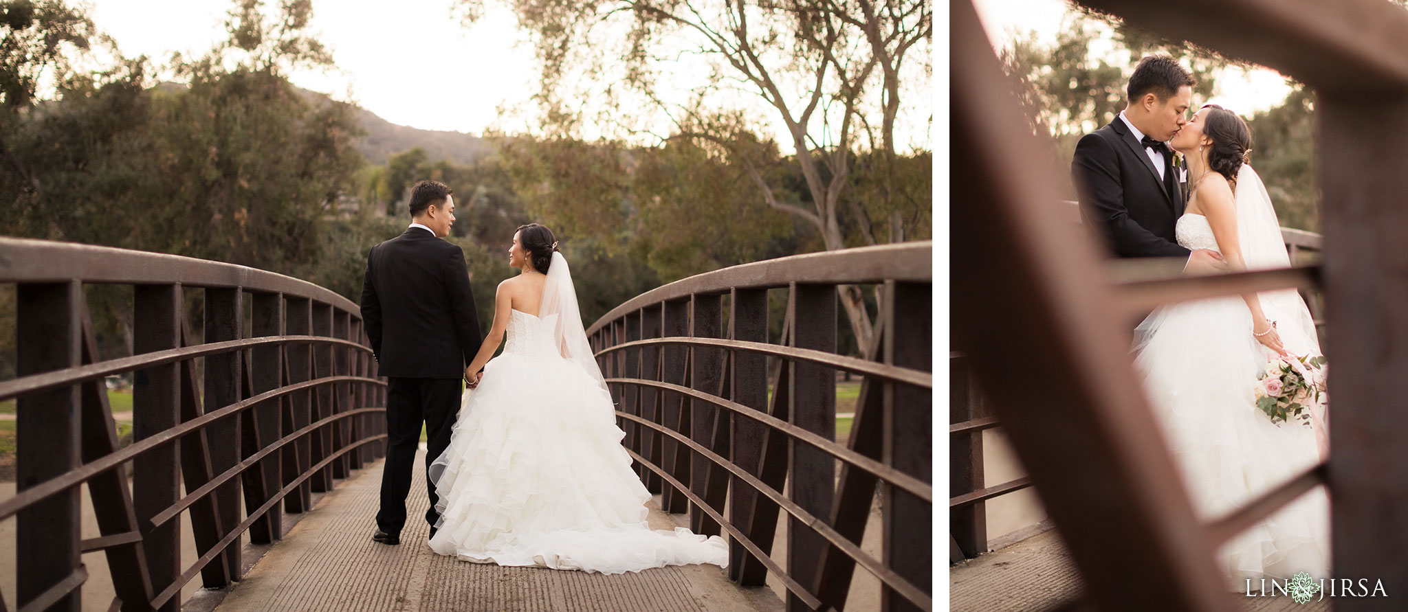 29 brookside golf club pasadena wedding couple photography