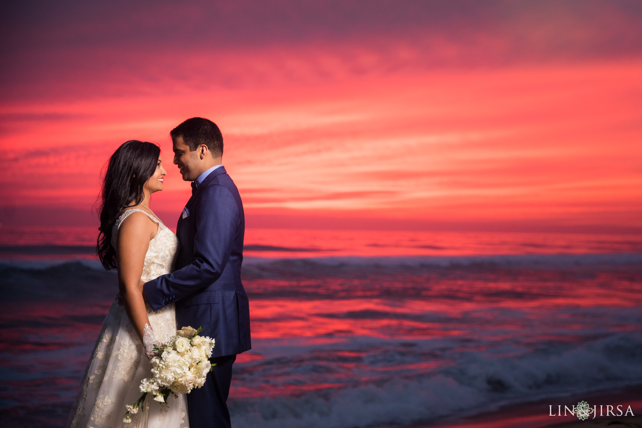 29 hyatt regency huntington beach sunset wedding photography