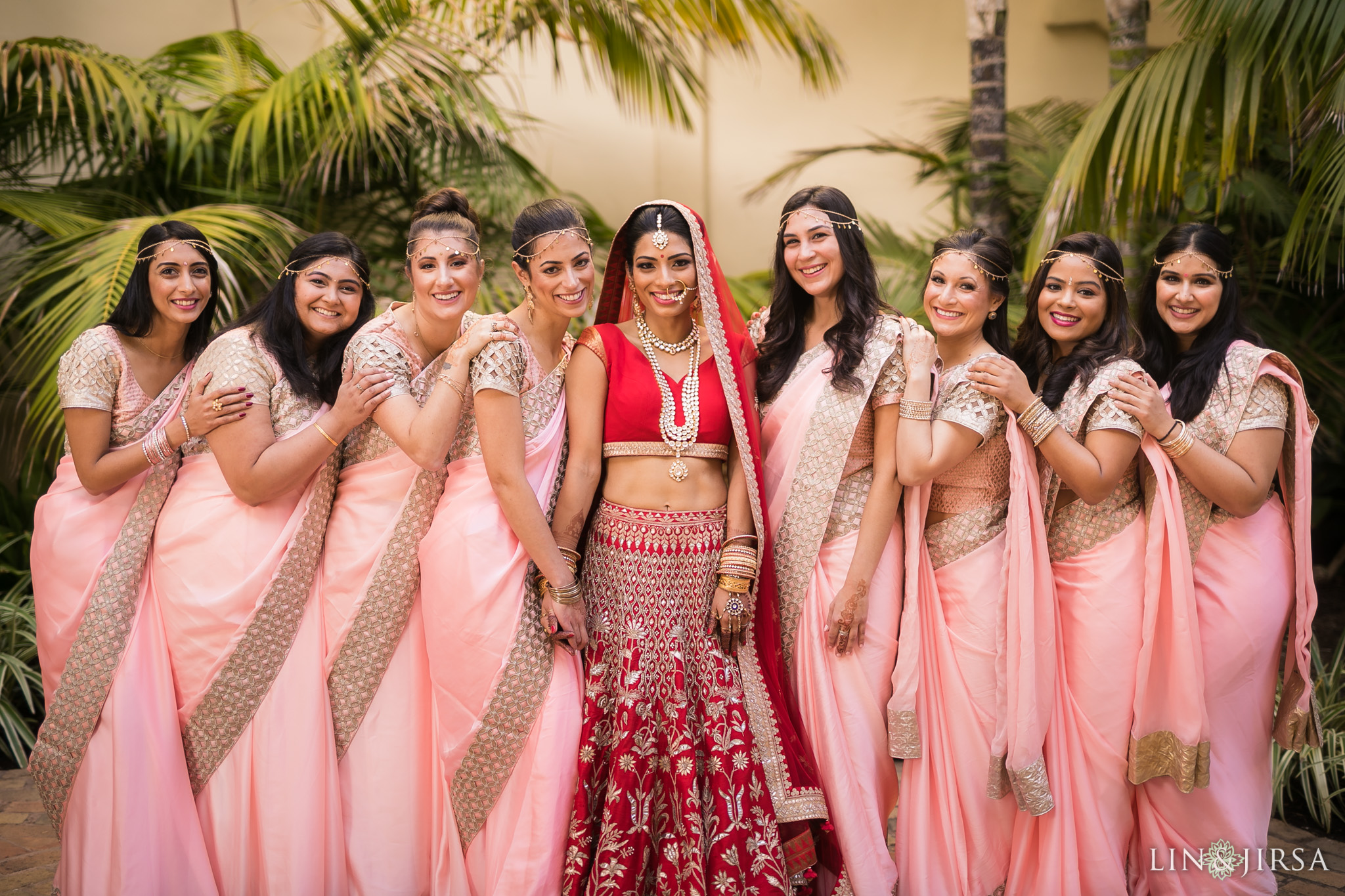 08 ritz carlton laguna niguel indian bridesmaids wedding photography