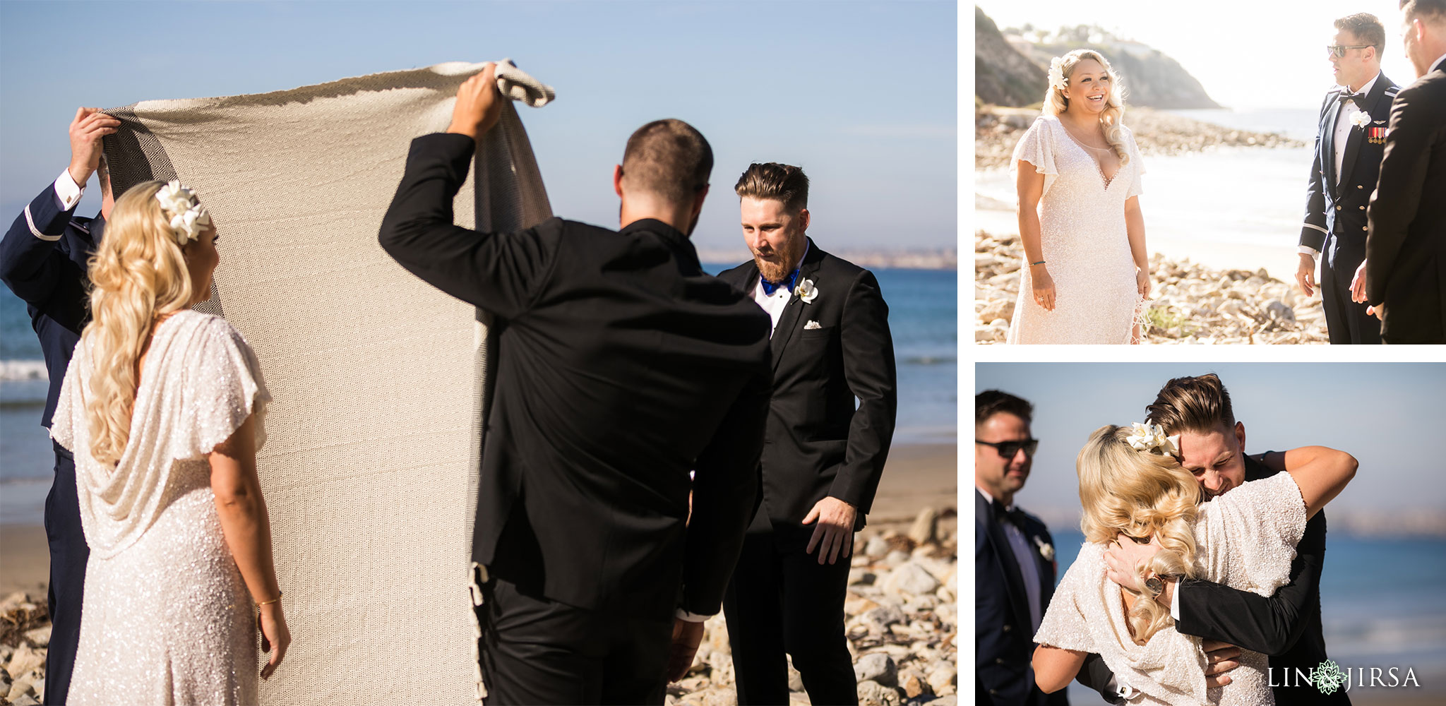 09 redondo beach first look wedding photography