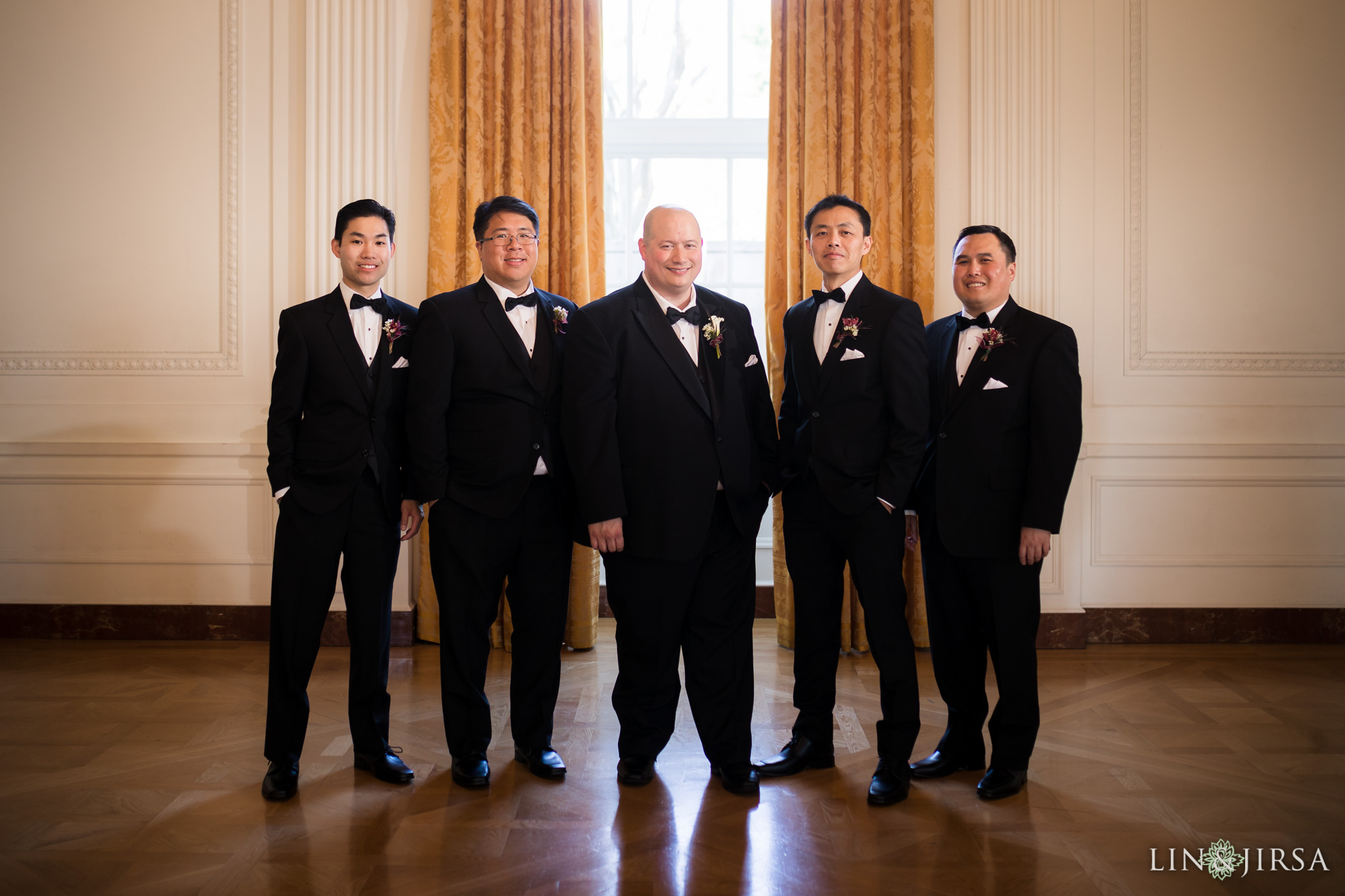 10 richard nixon library museum groomsmen wedding photography