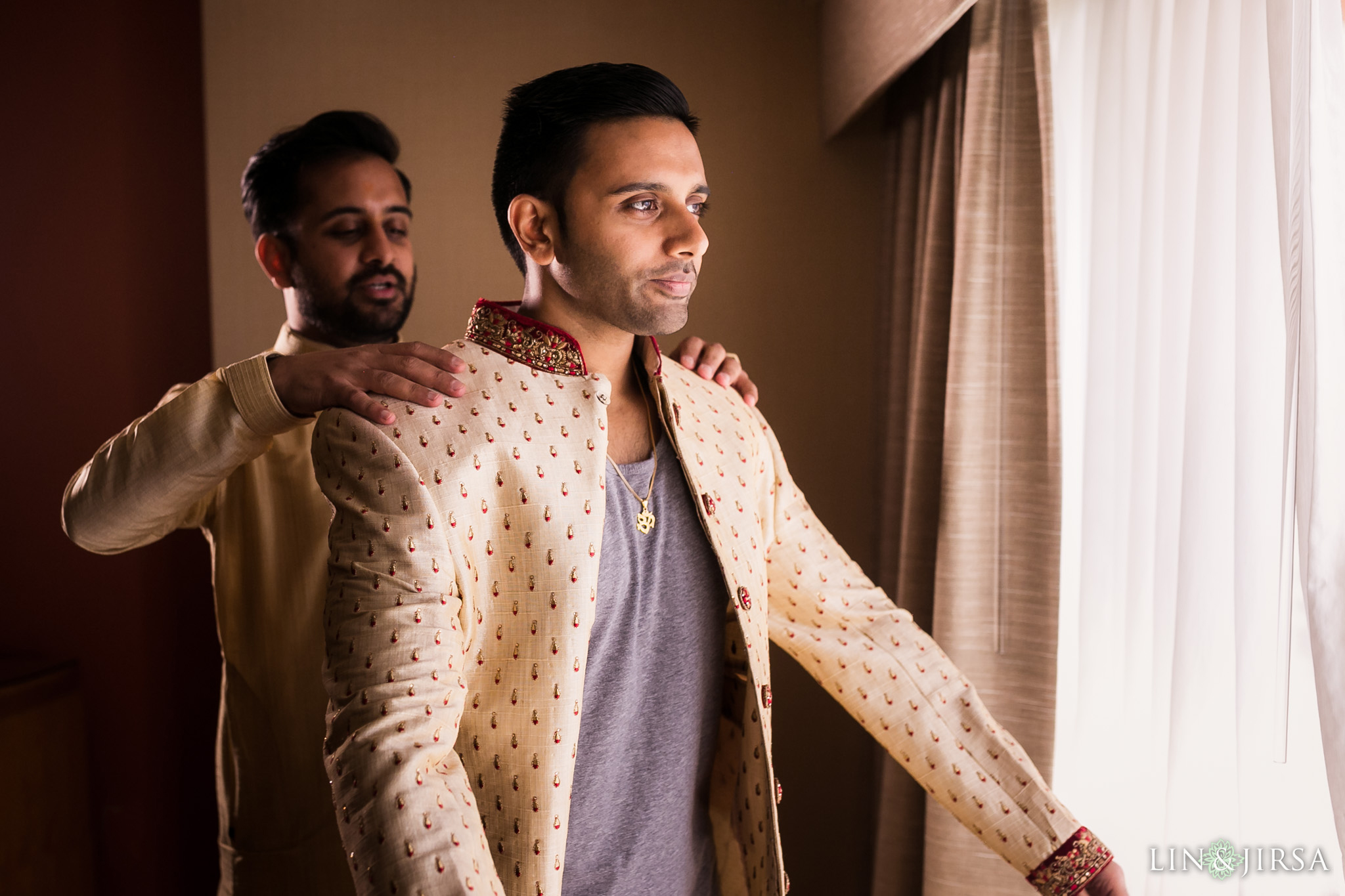 12 hotel irvine indian groom wedding photography