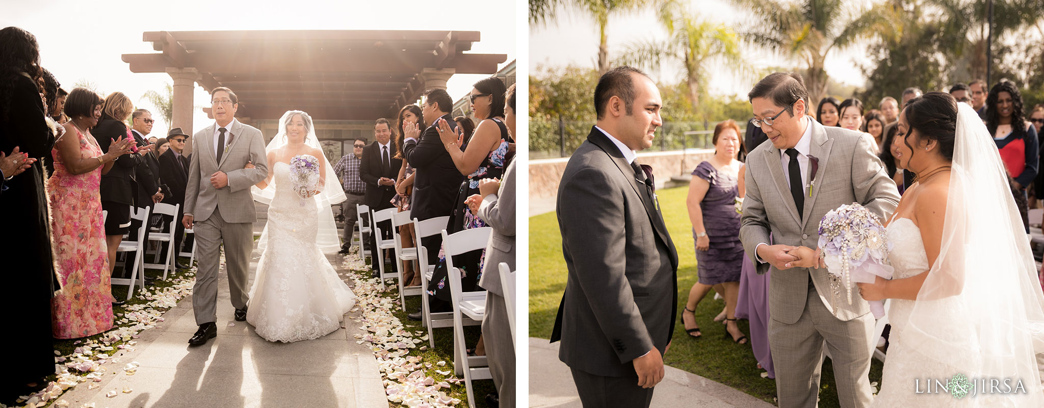 12 old ranch country club seal beach wedding ceremony photography