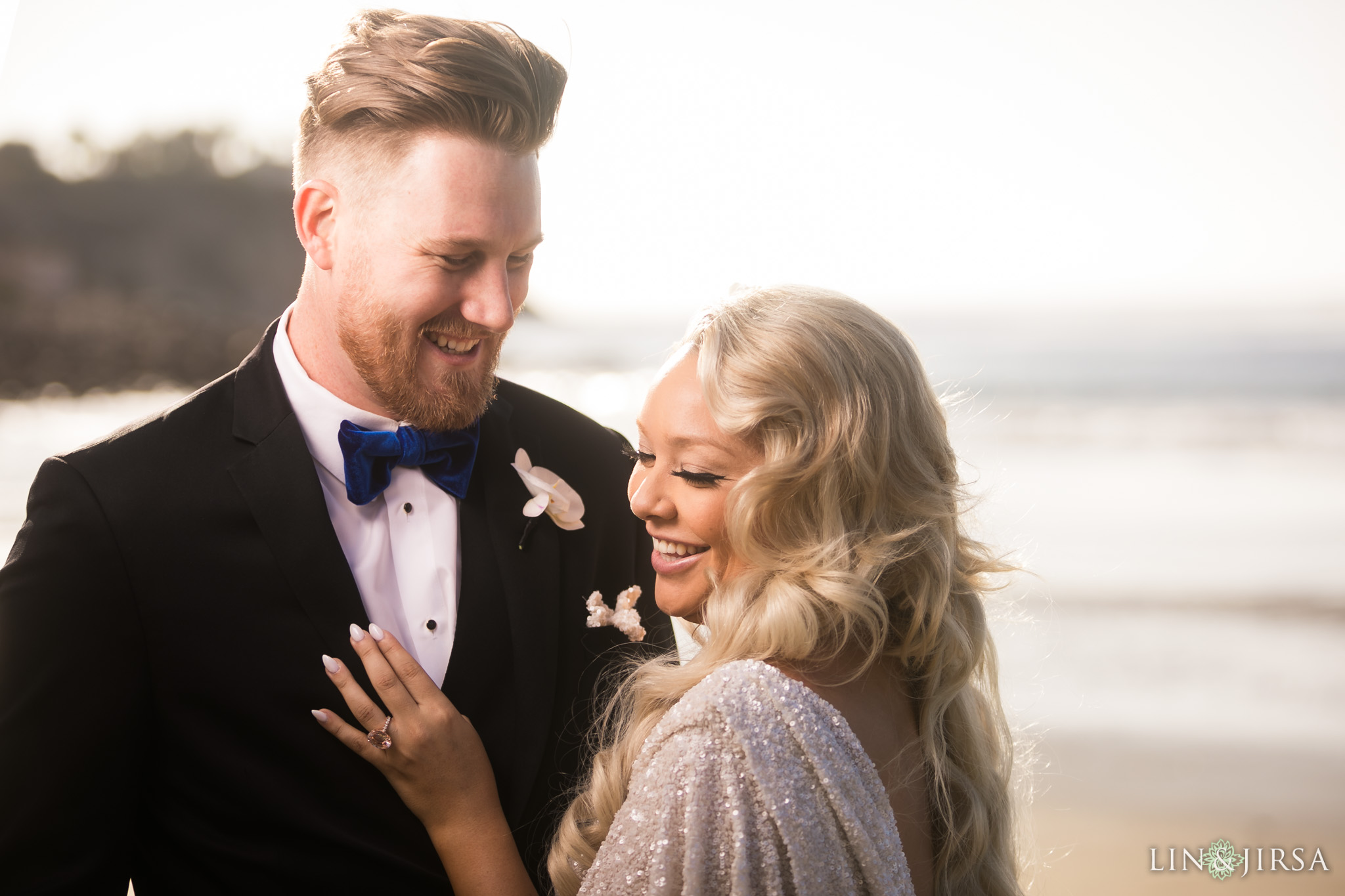 12 redondo beach first look wedding photography
