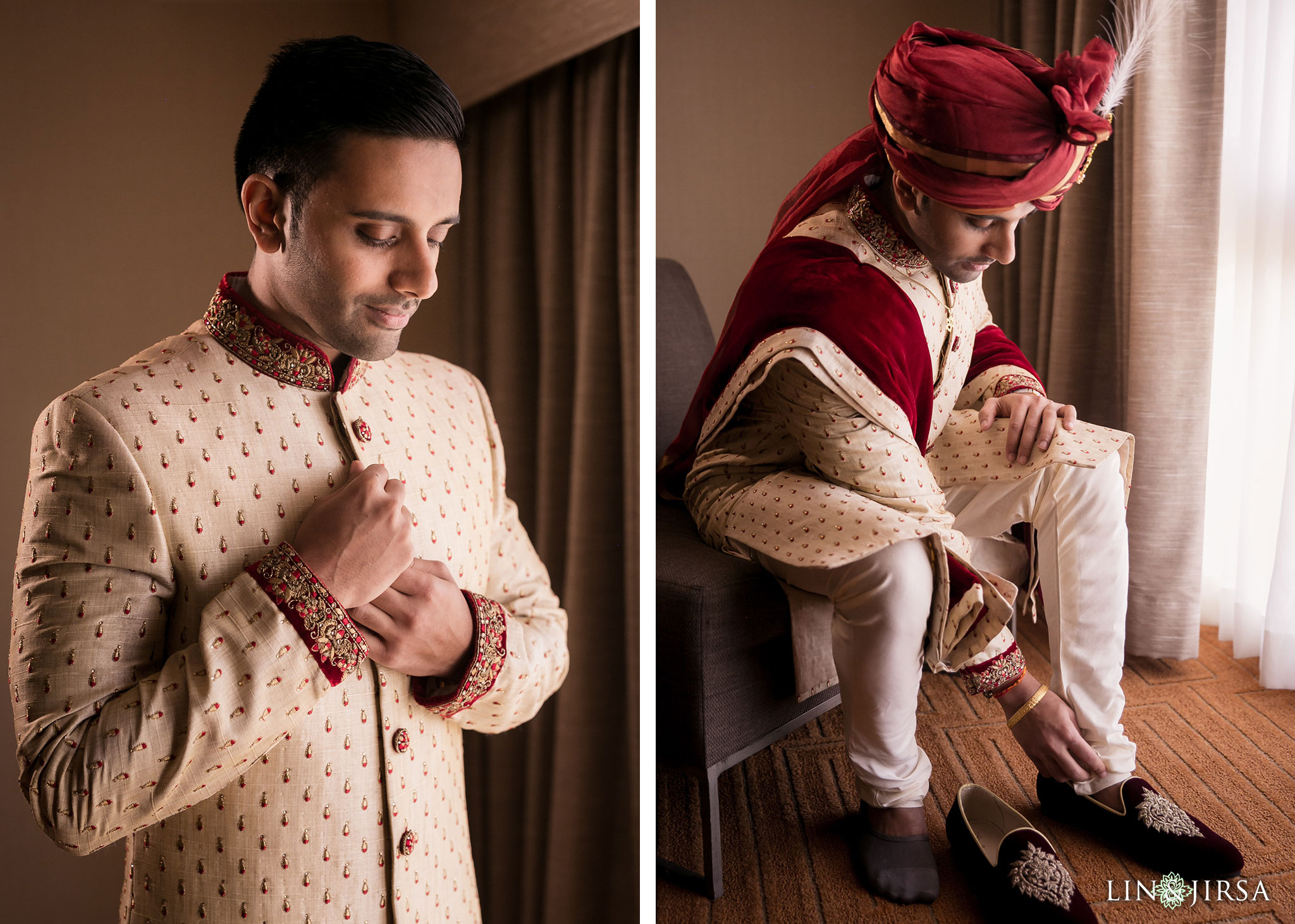 13 hotel irvine indian groom wedding photography