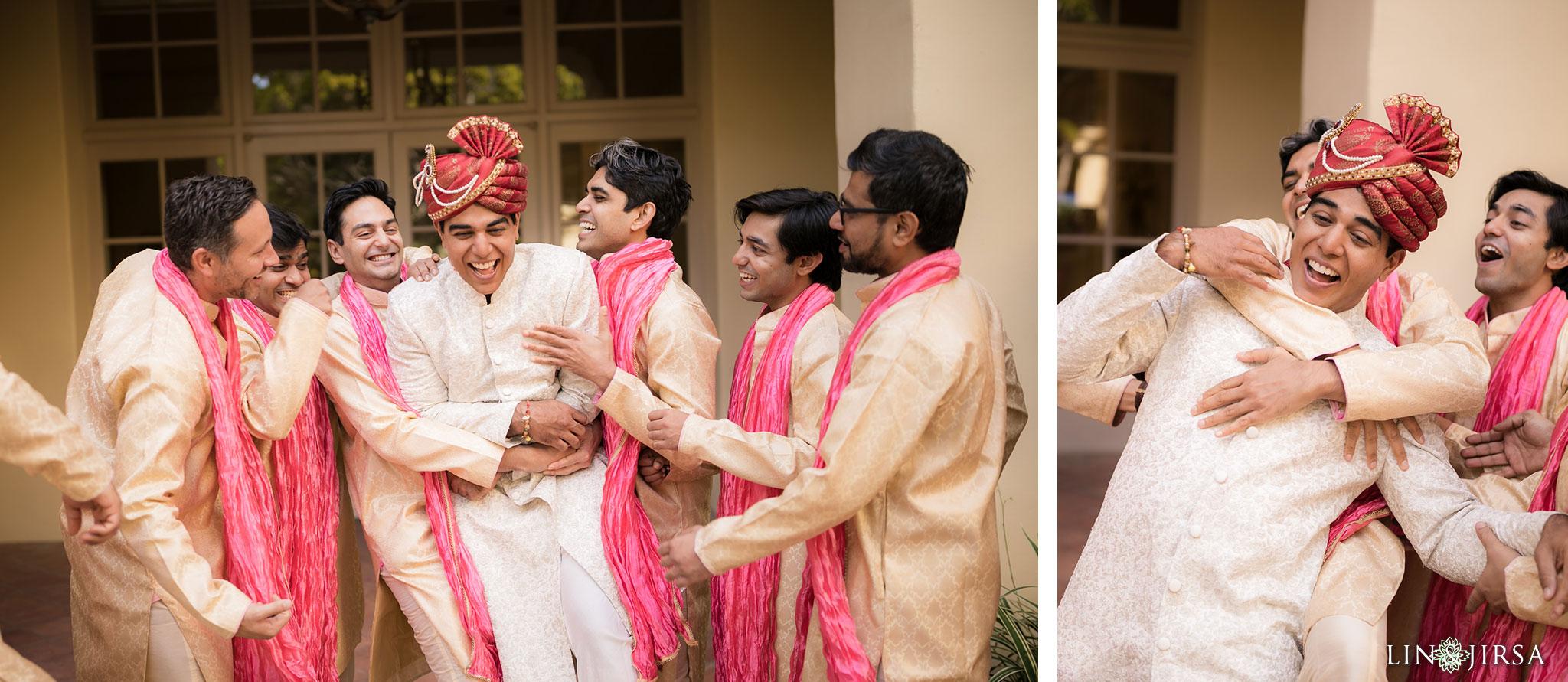 13 ritz carlton laguna niguel indian groomsmen wedding photography