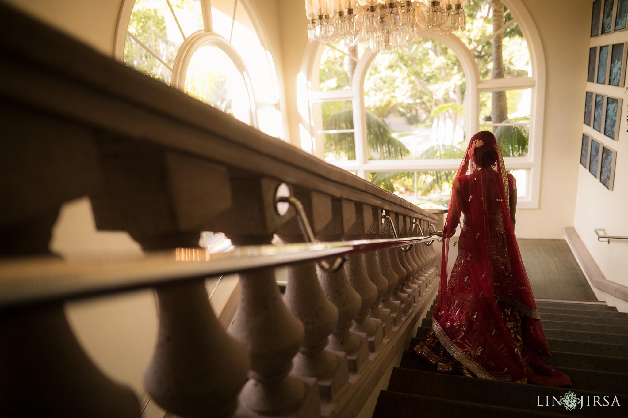 14 ritz carlton laguna niguel first look indian wedding photography