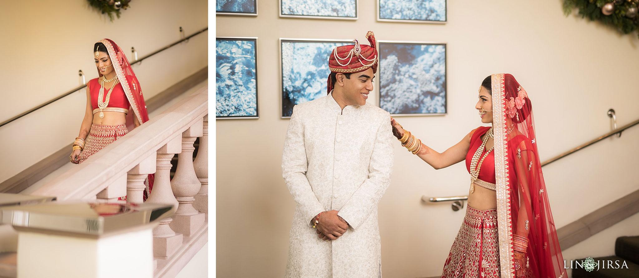 15 ritz carlton laguna niguel first look indian wedding photography