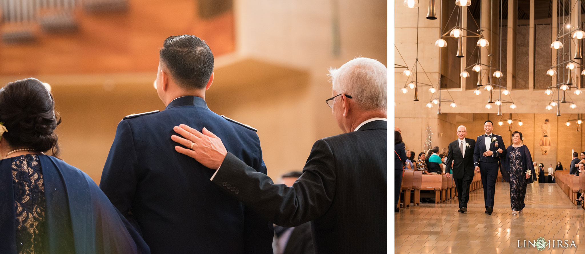 16 cathedral of our lady of angels wedding ceremony photography 1