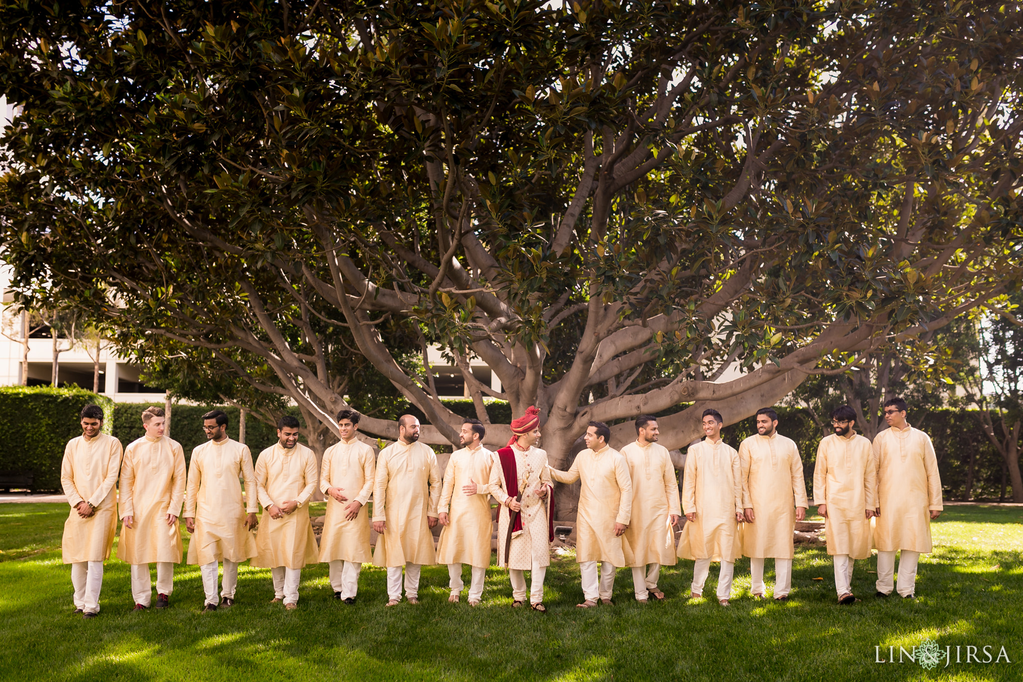 16 hotel irvine indian groomsmen wedding photography 1
