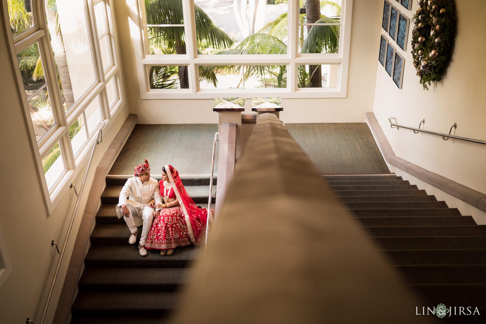16 ritz carlton laguna niguel first look indian wedding photography
