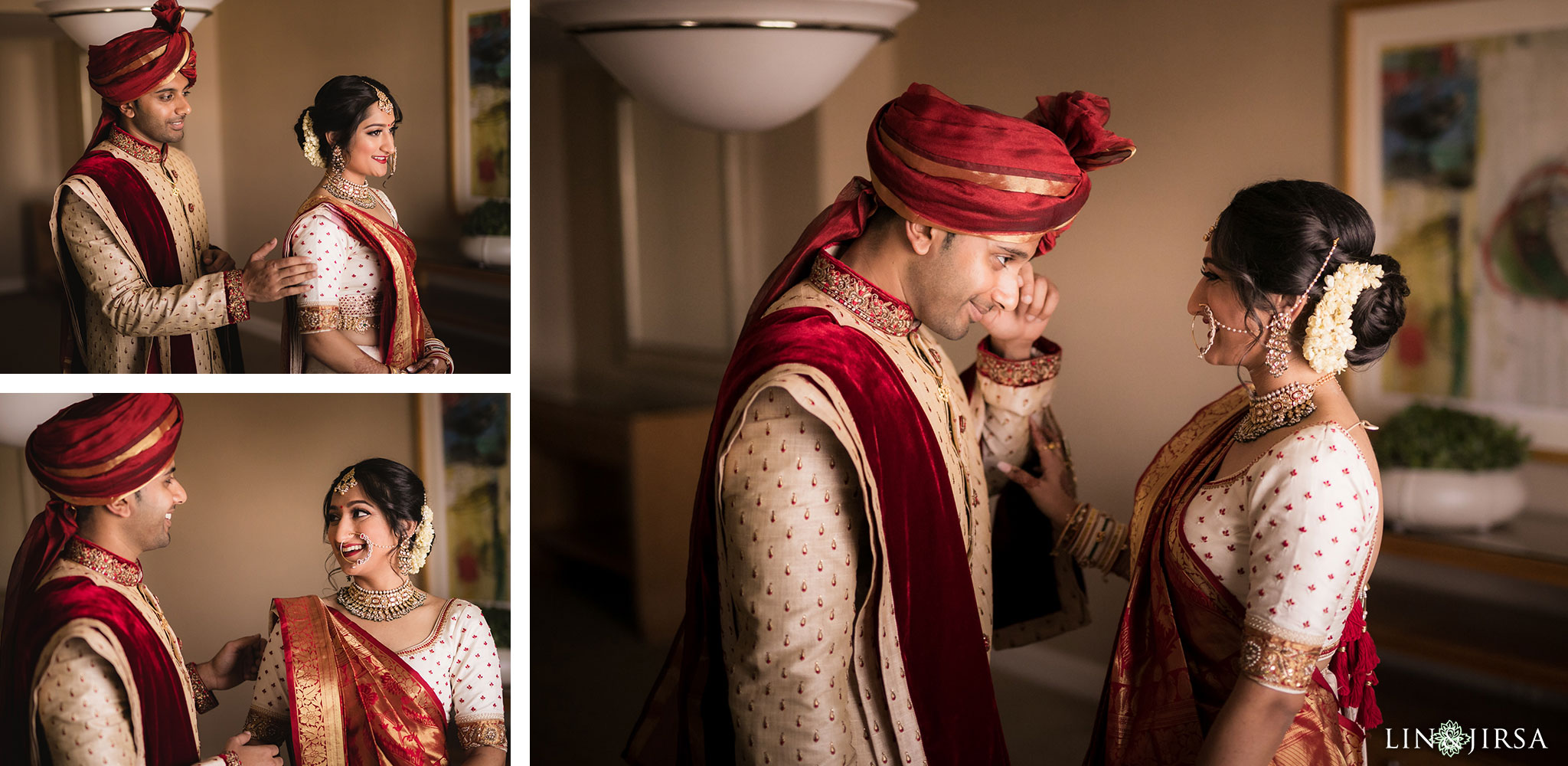 17 hotel irvine indian first look wedding photography