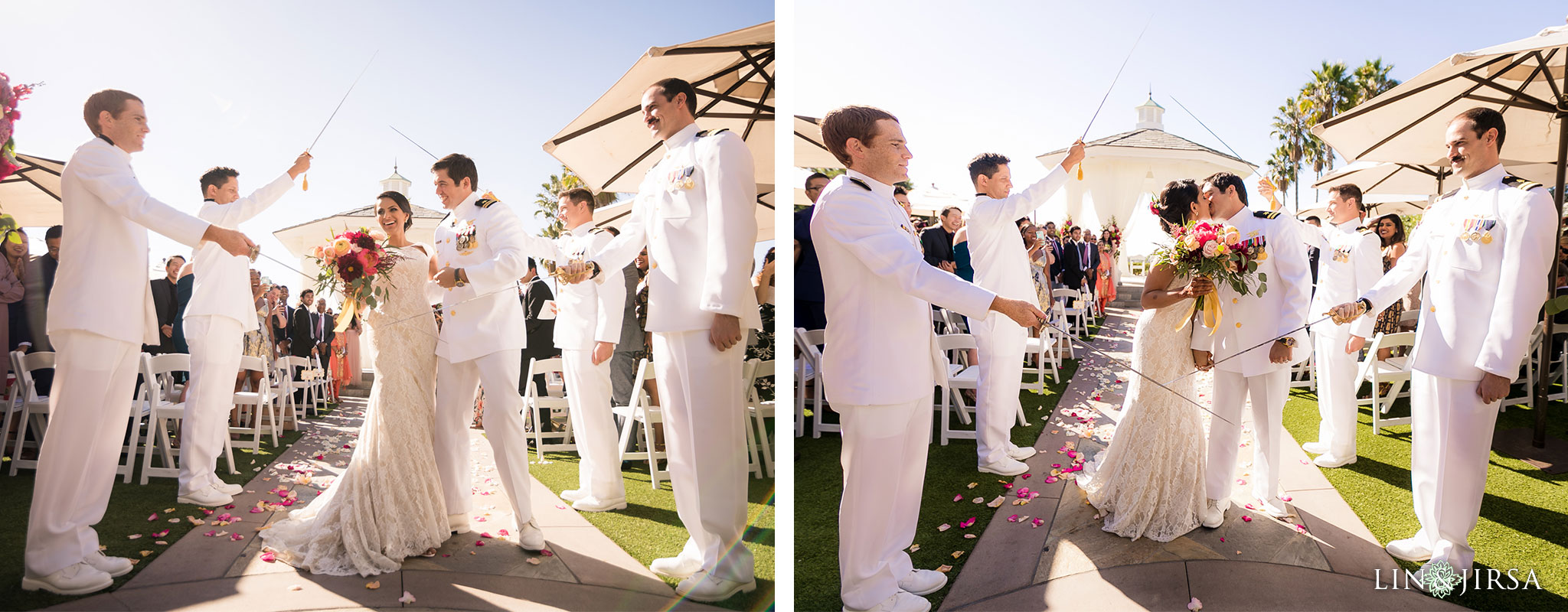 19 newport beach marriott hotel wedding ceremony photography
