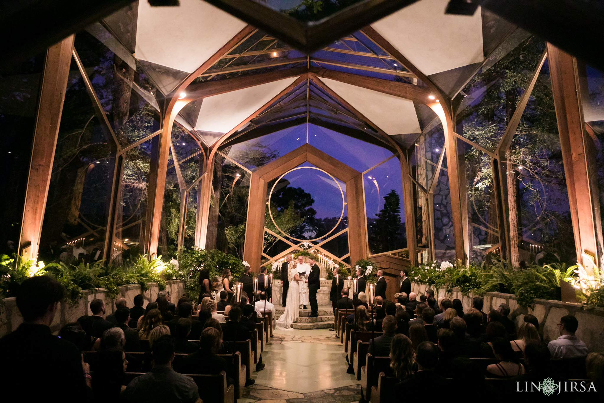 19 Wayfarers Chapel Wedding Ceremony Photography