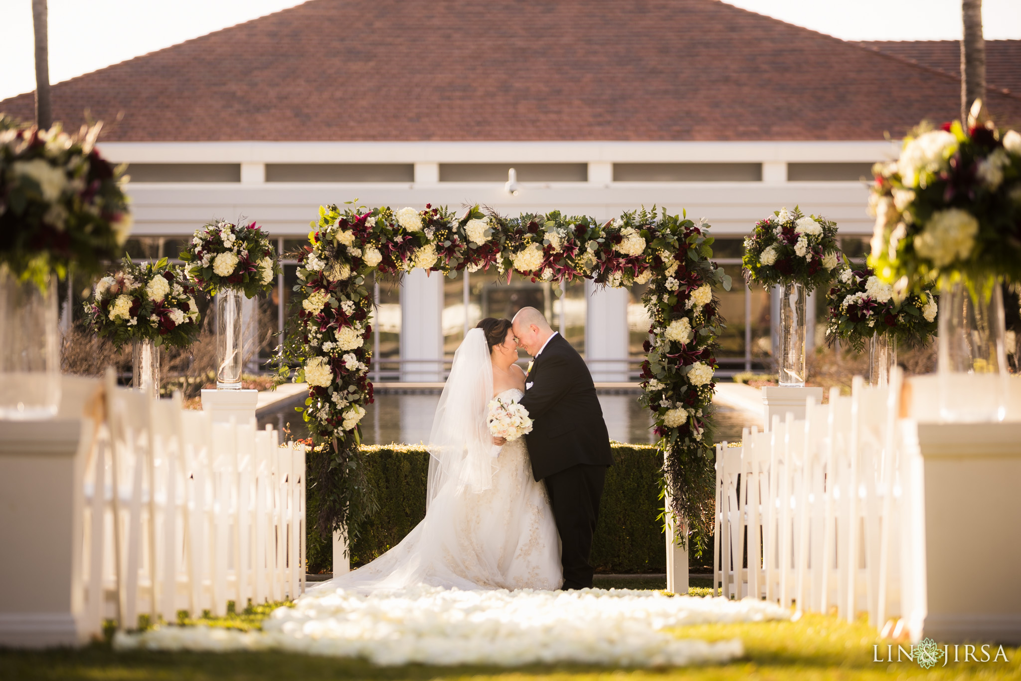 20 richard nixon library museum wedding ceremony photography