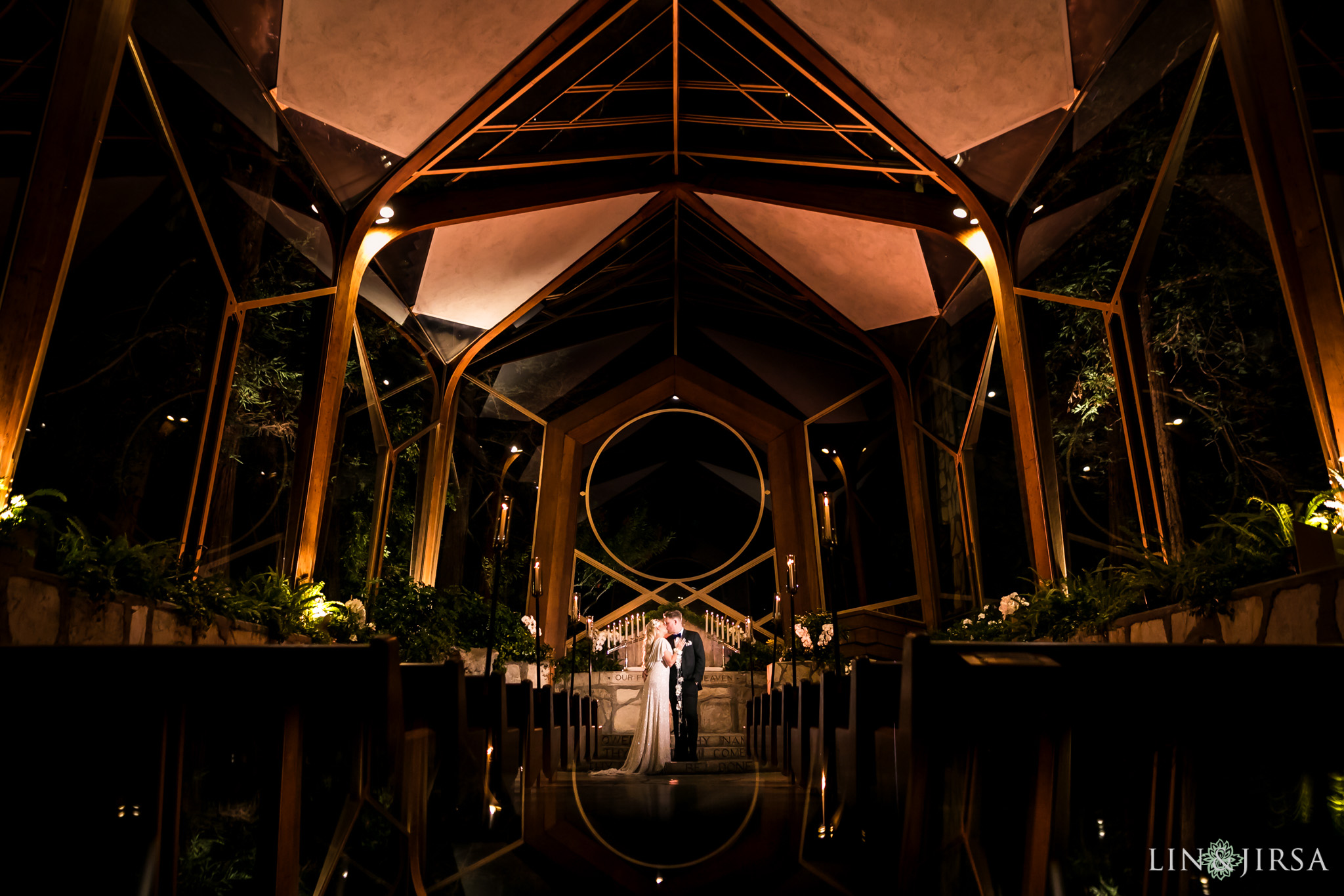 21 wayfarers chapel wedding ceremony photography
