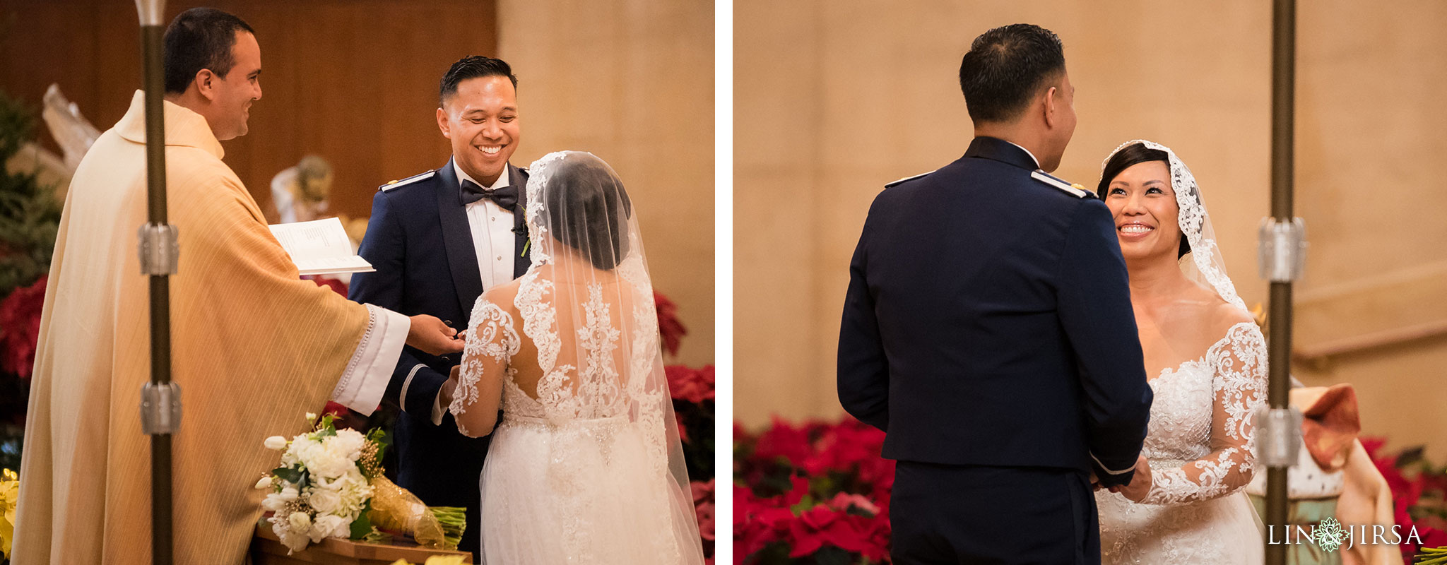 22 cathedral of our lady of angels wedding ceremony photography
