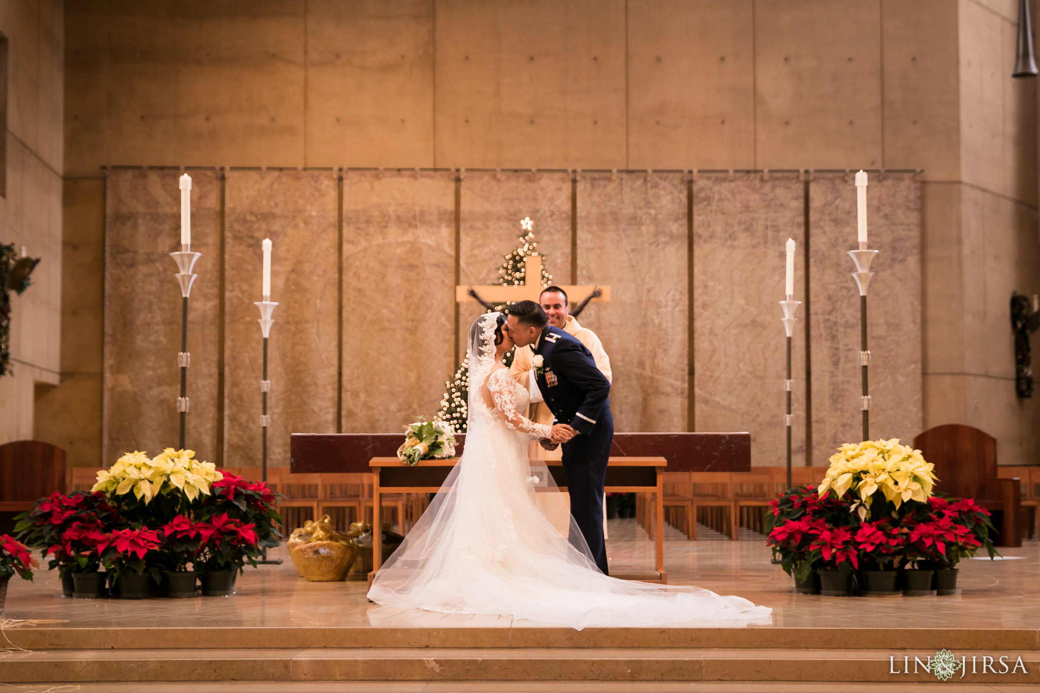 23 cathedral of our lady of angels wedding ceremony photography