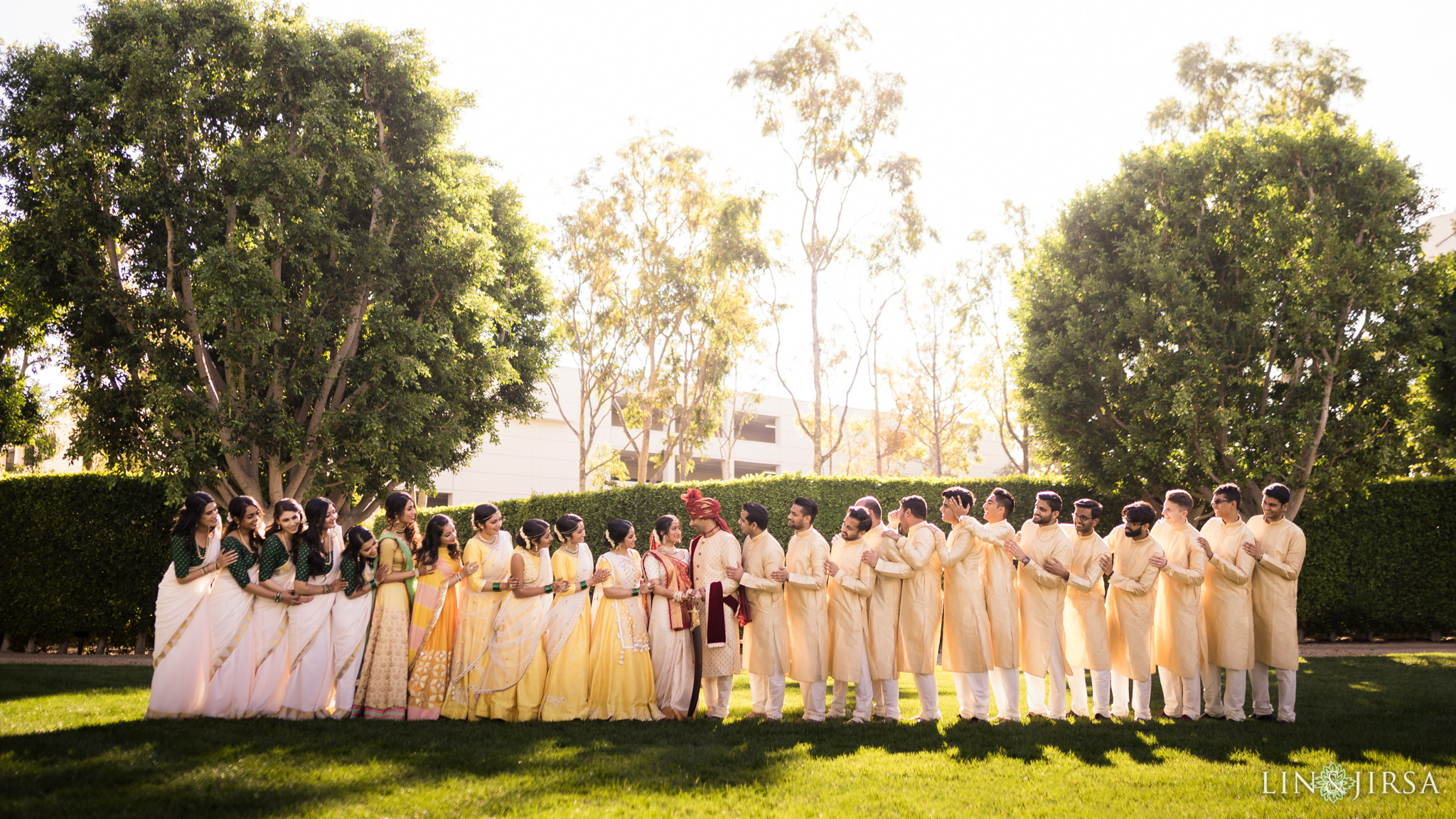 23 hotel irvine indian wedding party photography