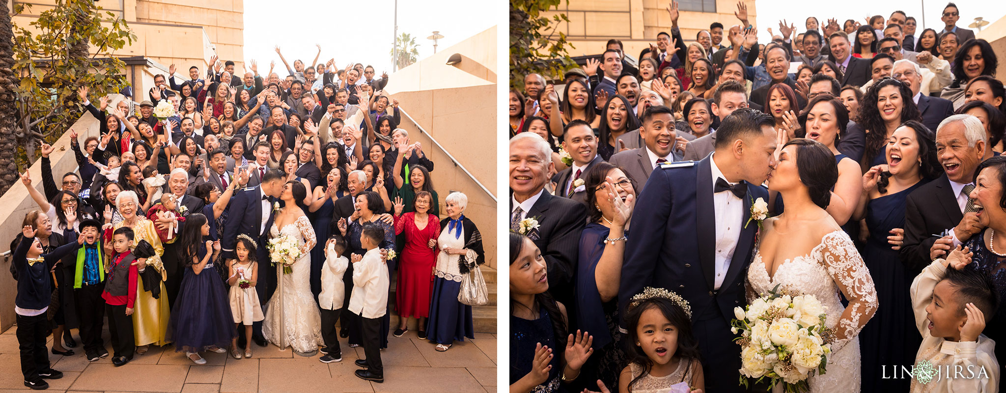 26 cathedral of our lady of angels wedding ceremony photography