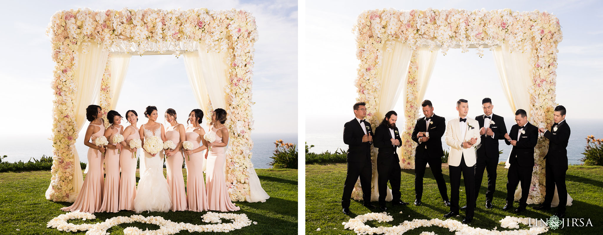 27 ritz carlton laguna niguel wedding party photography