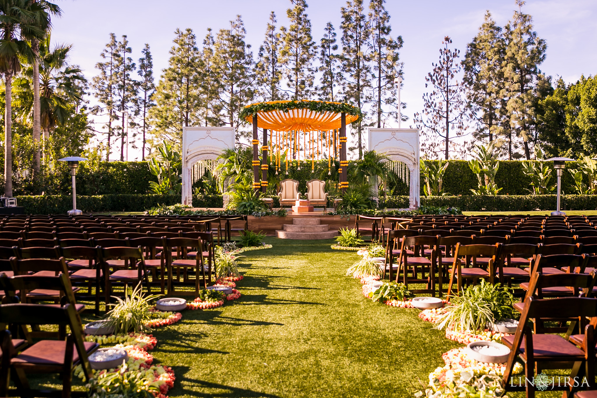 28 hotel irvine indian wedding ceremony photography
