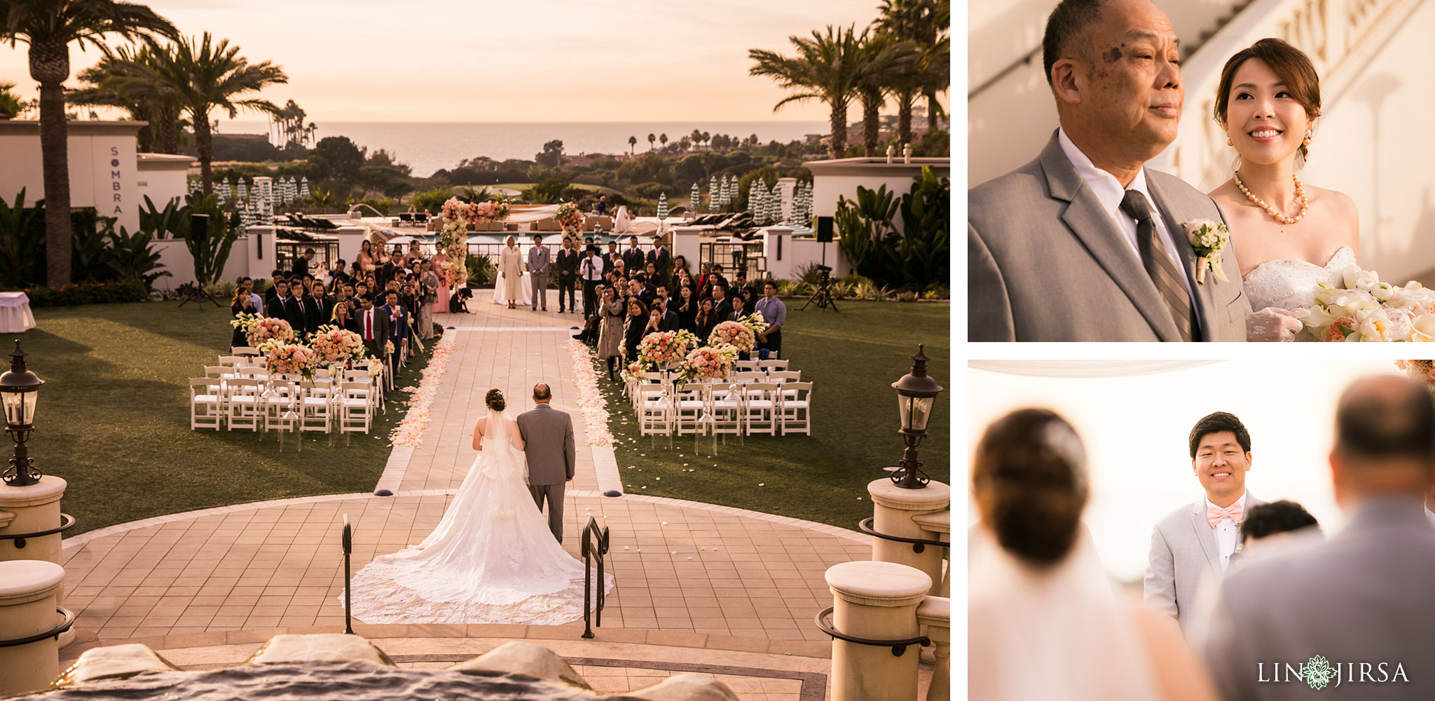 28 monarch beach resort wedding ceremony photography