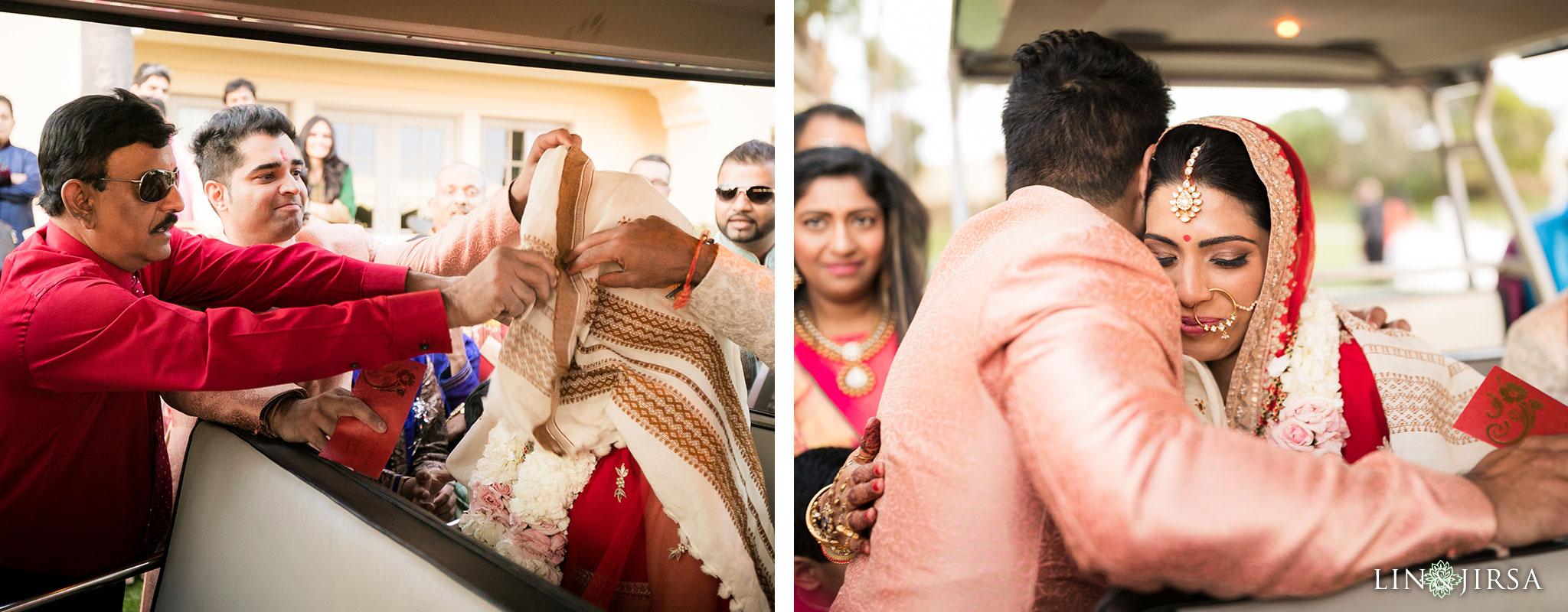 29 ritz carlton laguna niguel indian wedding ceremony vidhai photography