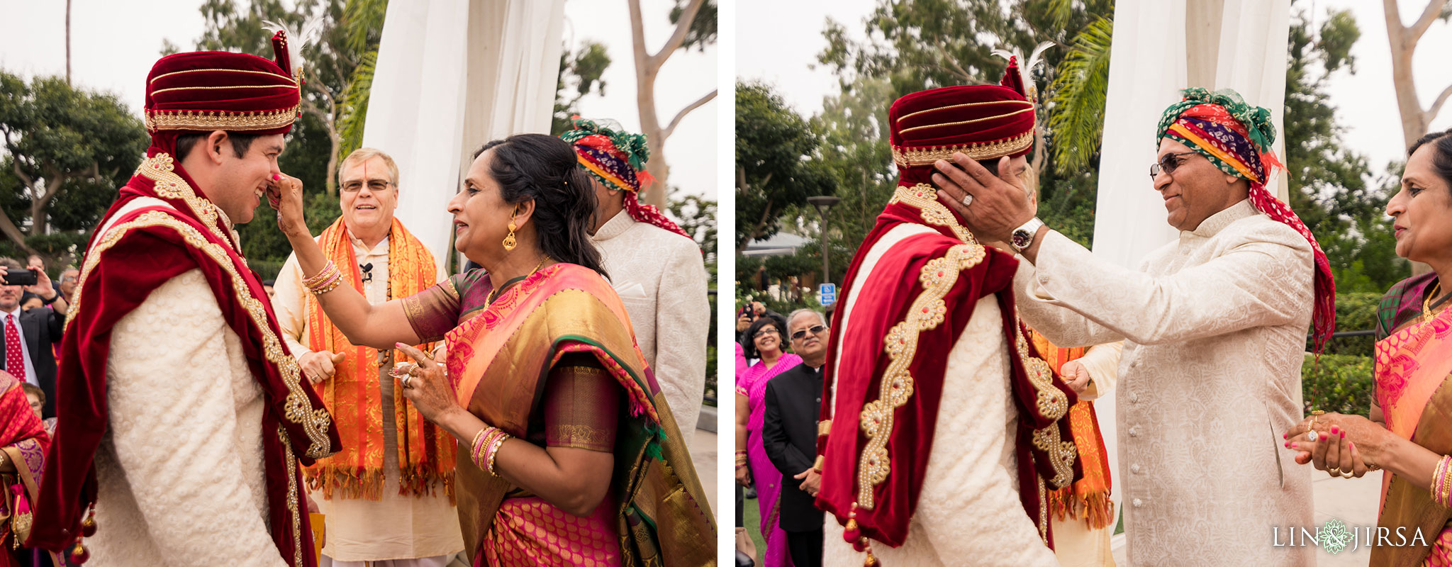 33 newport beach marriott hotel indian wedding baraat photography
