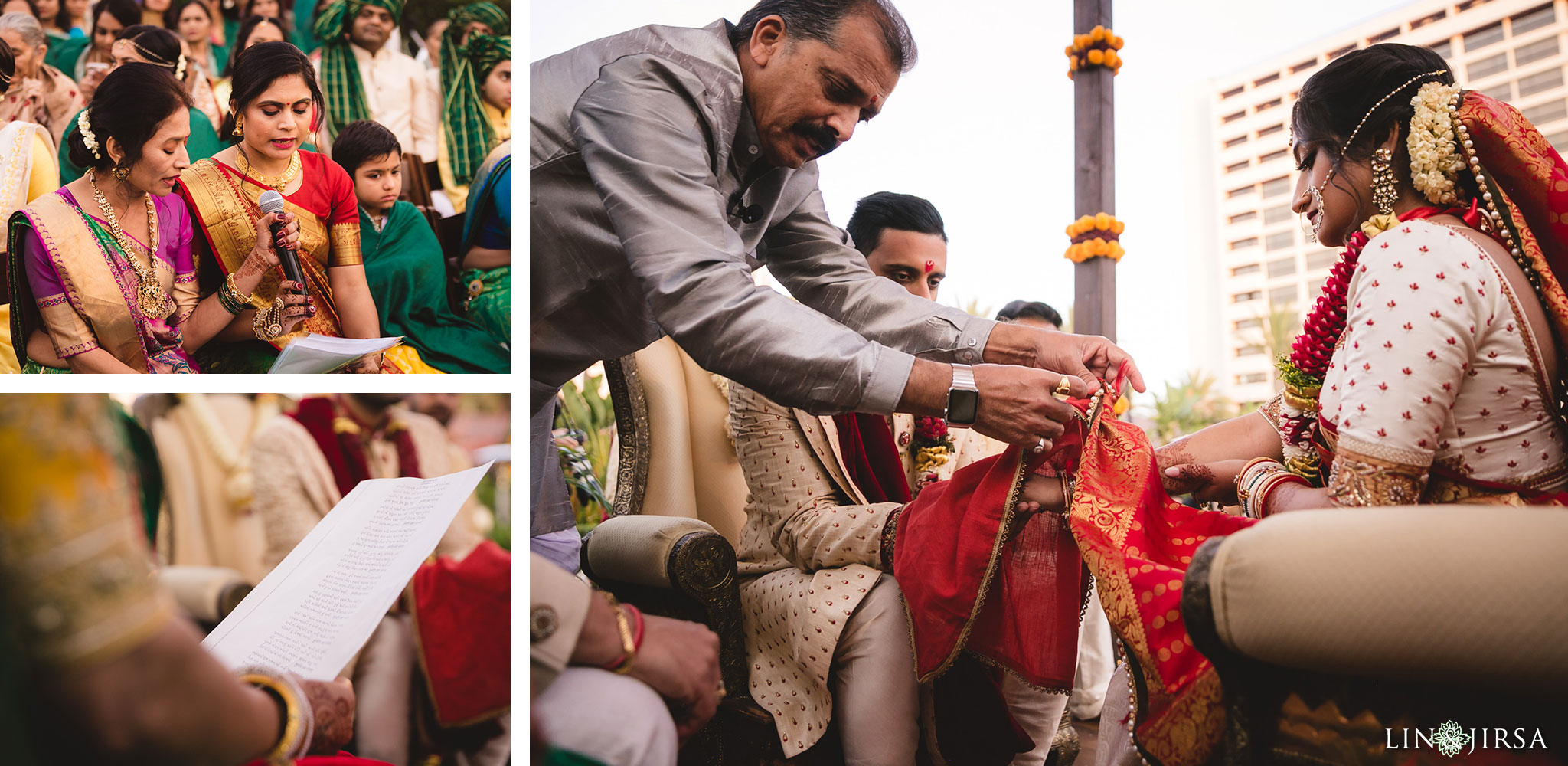 35 hotel irvine indian wedding ceremony photography