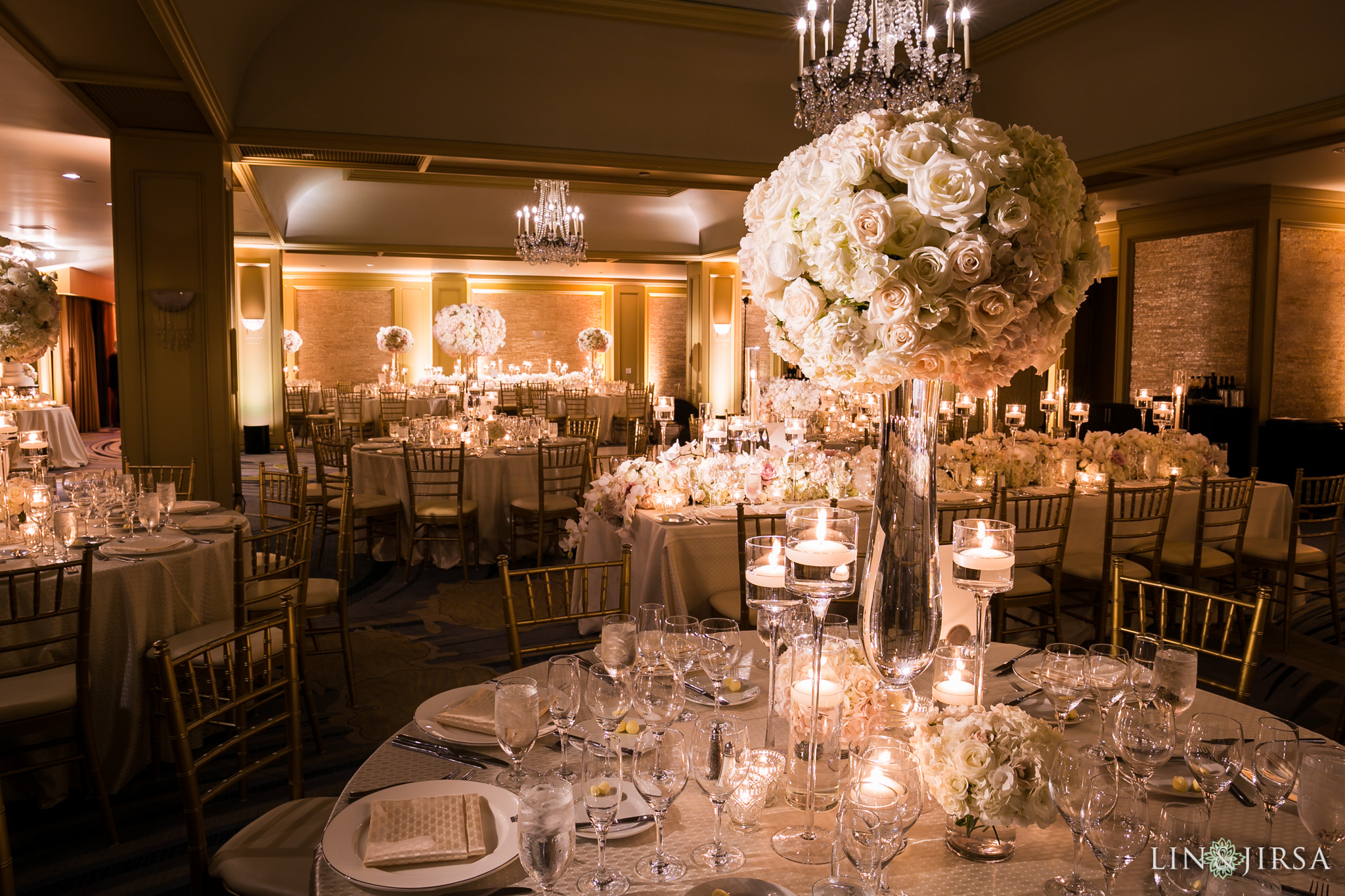 36 ritz carlton laguna niguel wedding reception flowers photography