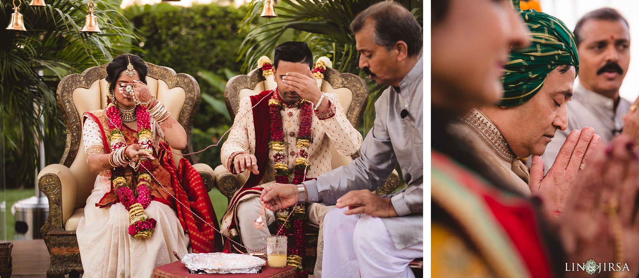 37 hotel irvine indian wedding ceremony photography