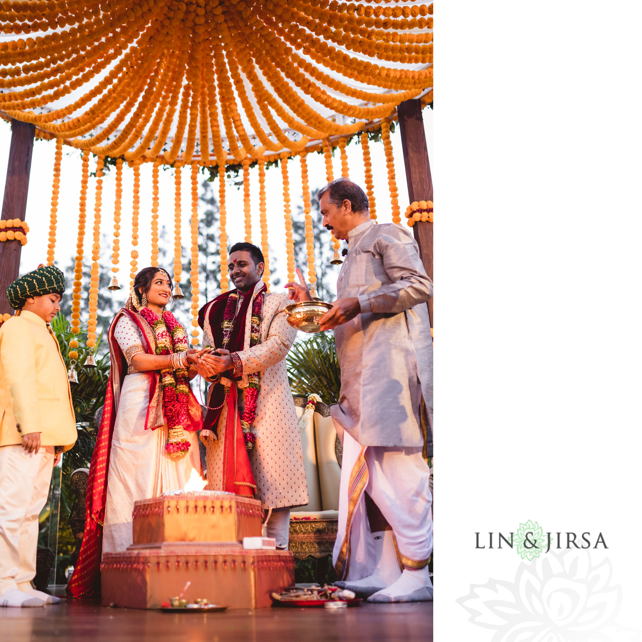 39 hotel irvine indian wedding ceremony photography