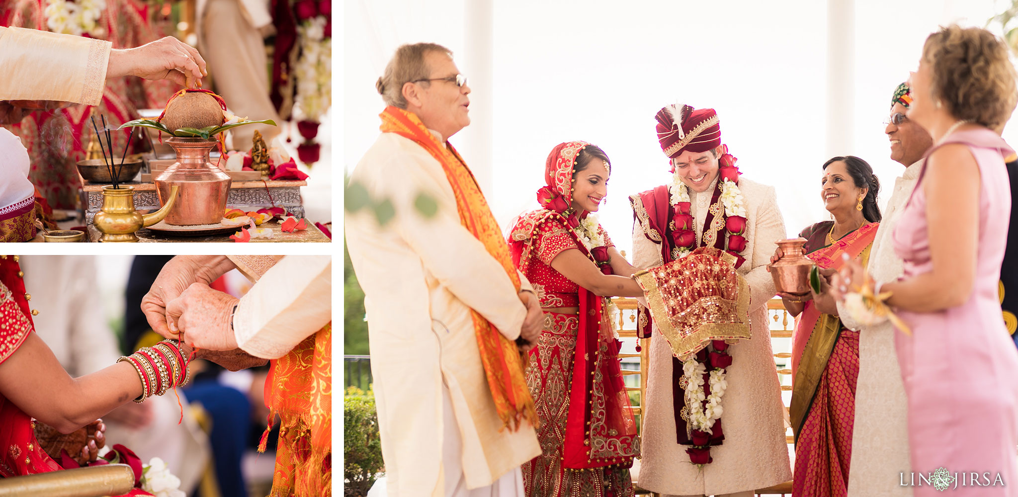 39 newport beach marriott hotel indian wedding ceremony photography