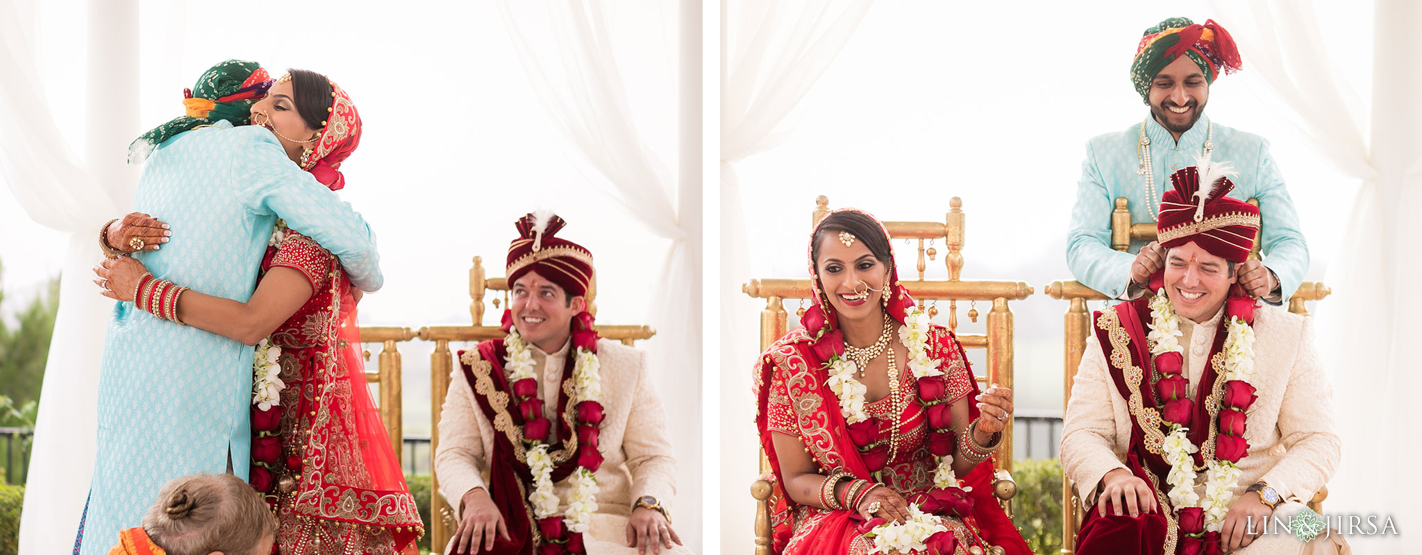 40 newport beach marriott hotel indian wedding ceremony photography
