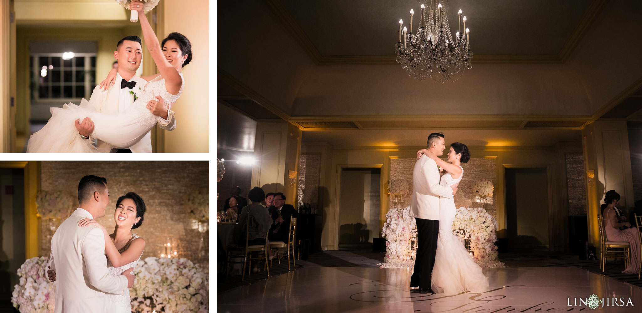 41 ritz carlton laguna niguel wedding reception first dance photography