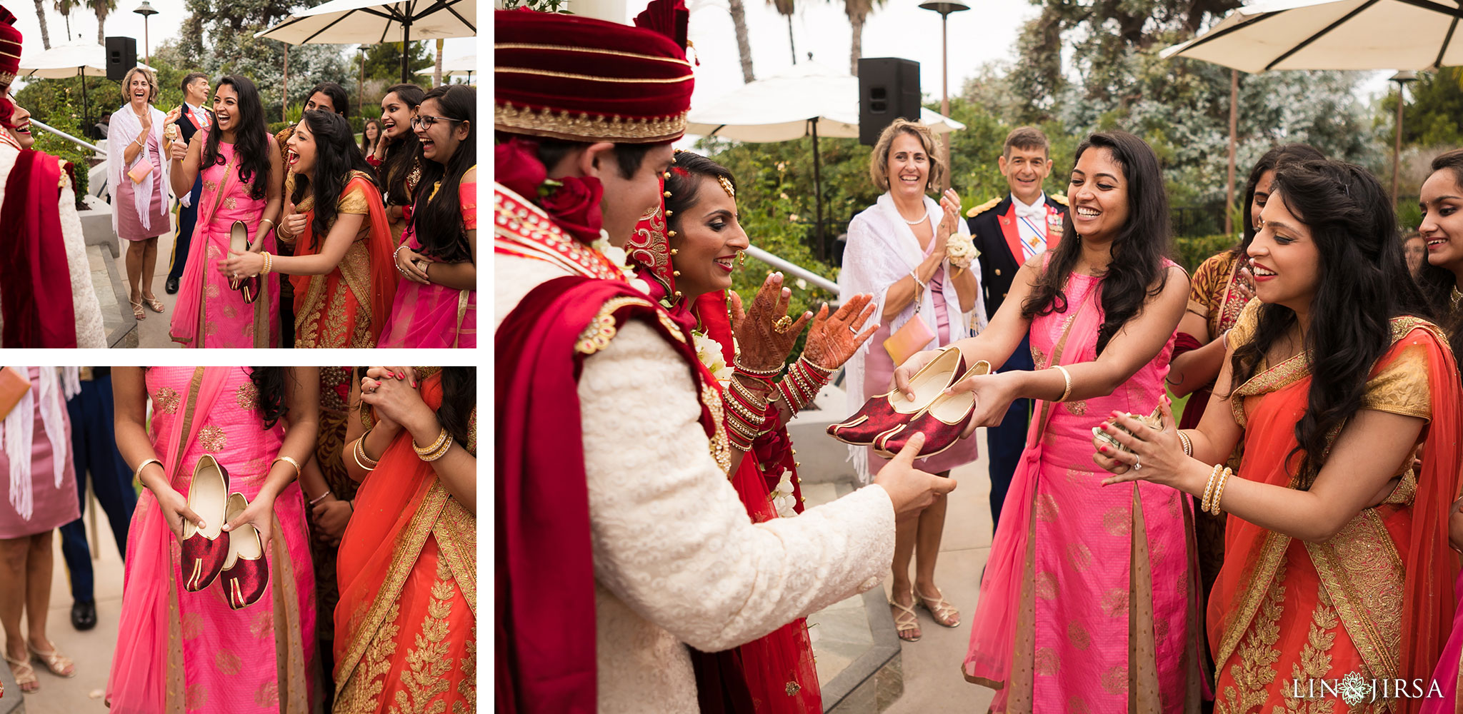 42 newport beach marriott hotel indian wedding ceremony photography