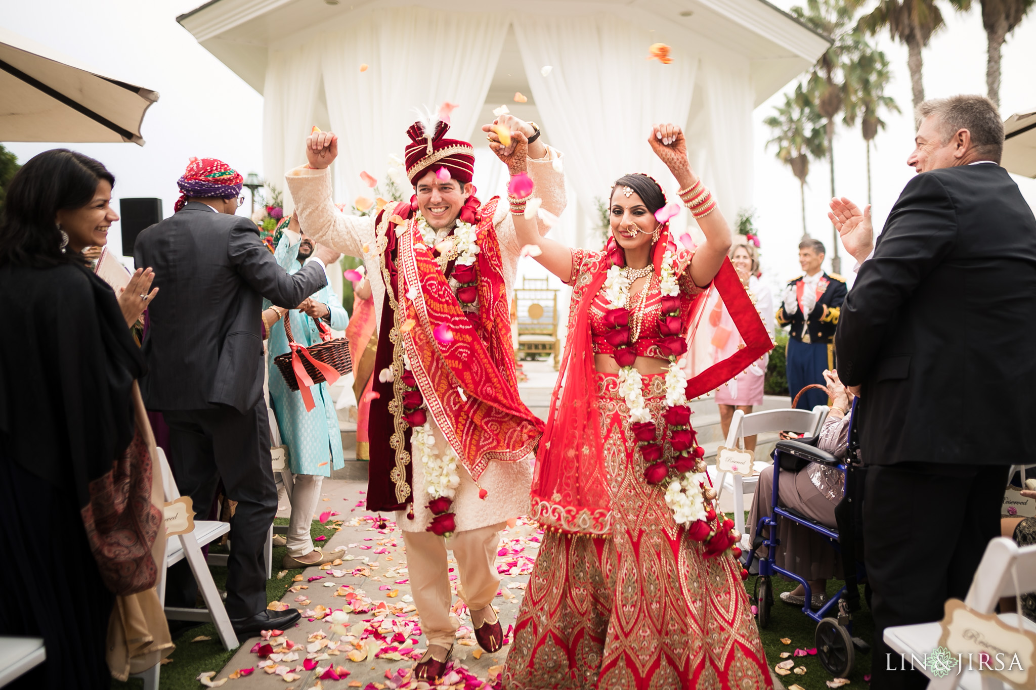 43 newport beach marriott hotel indian wedding ceremony photography