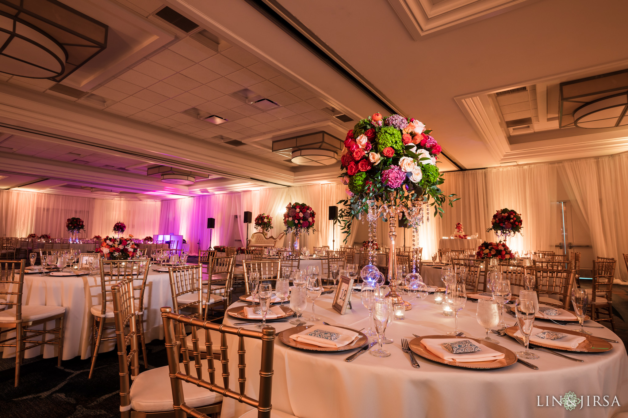 46 newport beach marriott hotel indian wedding reception photography
