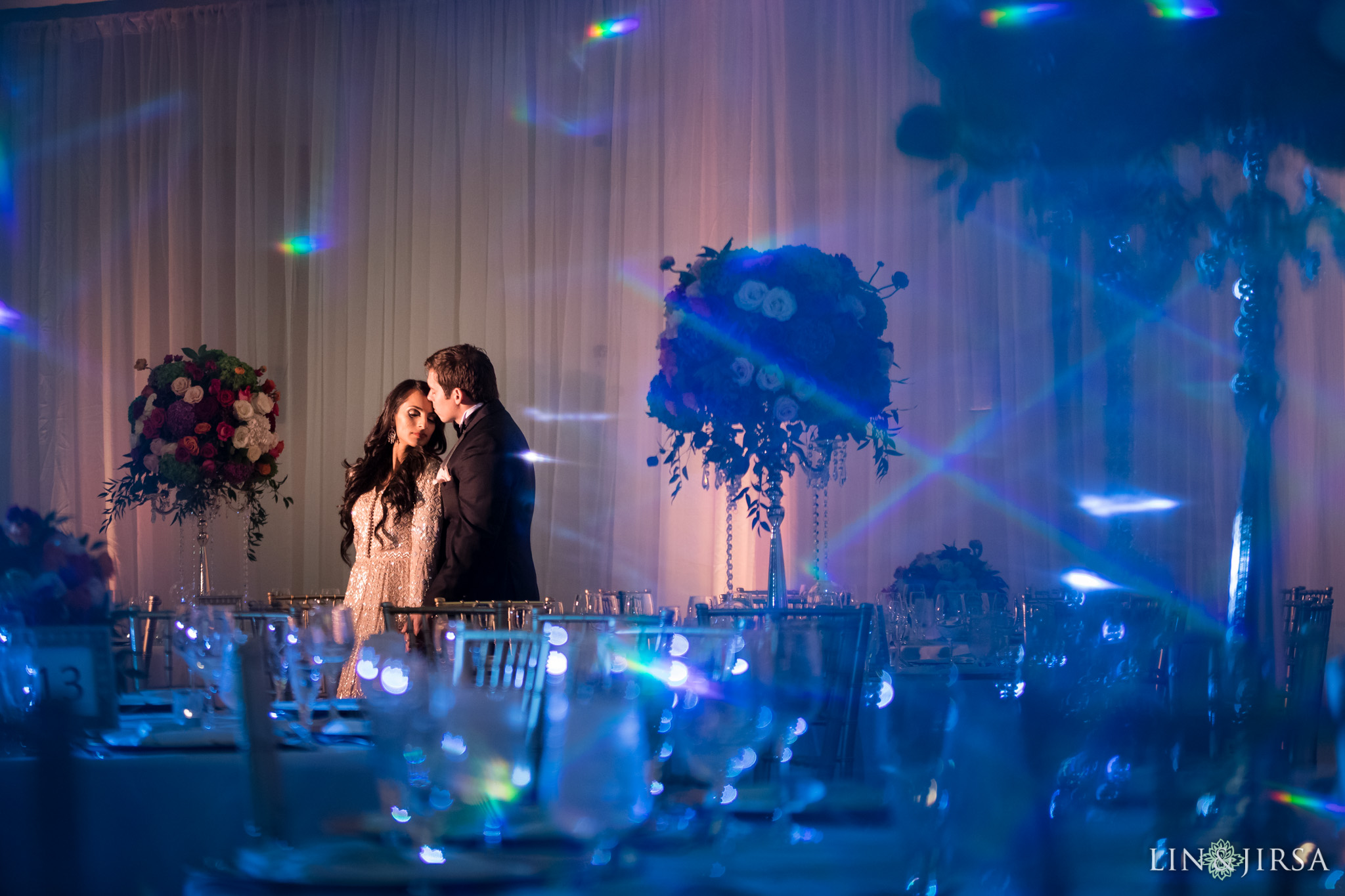 50 newport beach marriott hotel indian wedding reception photography