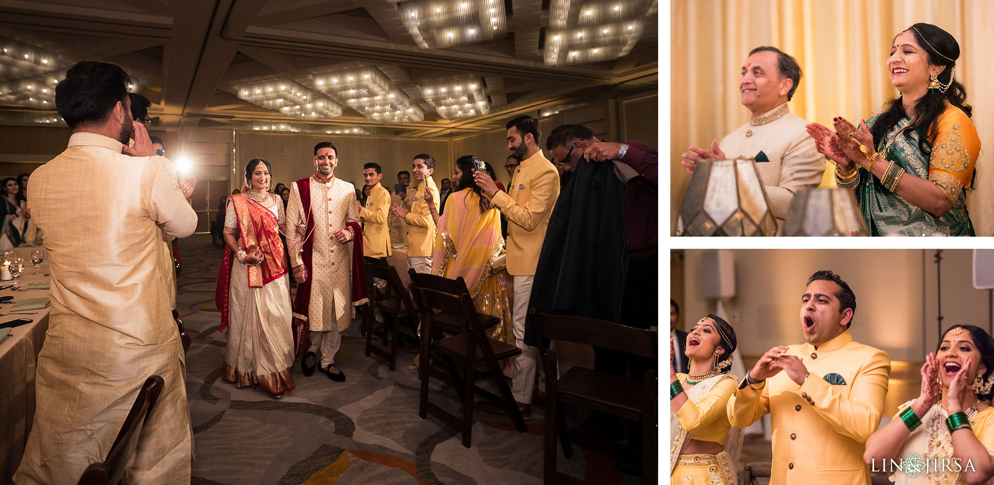 53 hotel irvine indian wedding reception photography