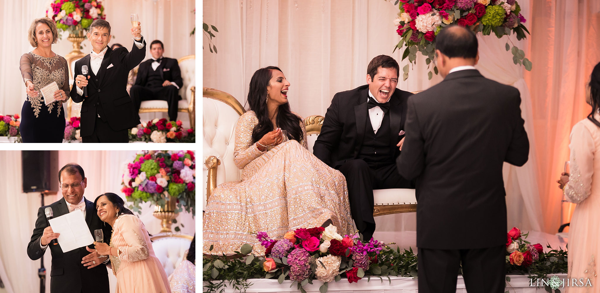53 newport beach marriott hotel indian wedding reception photography