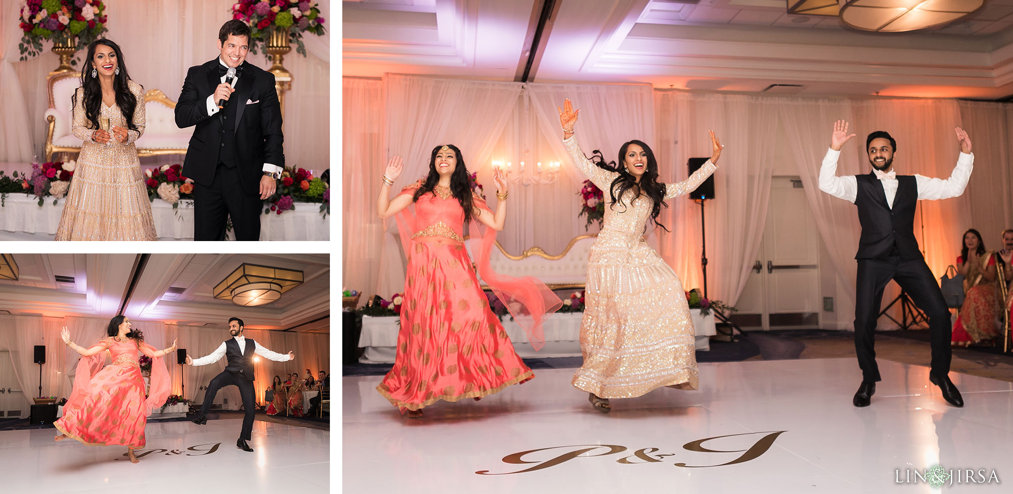 56 newport beach marriott hotel indian wedding reception photography