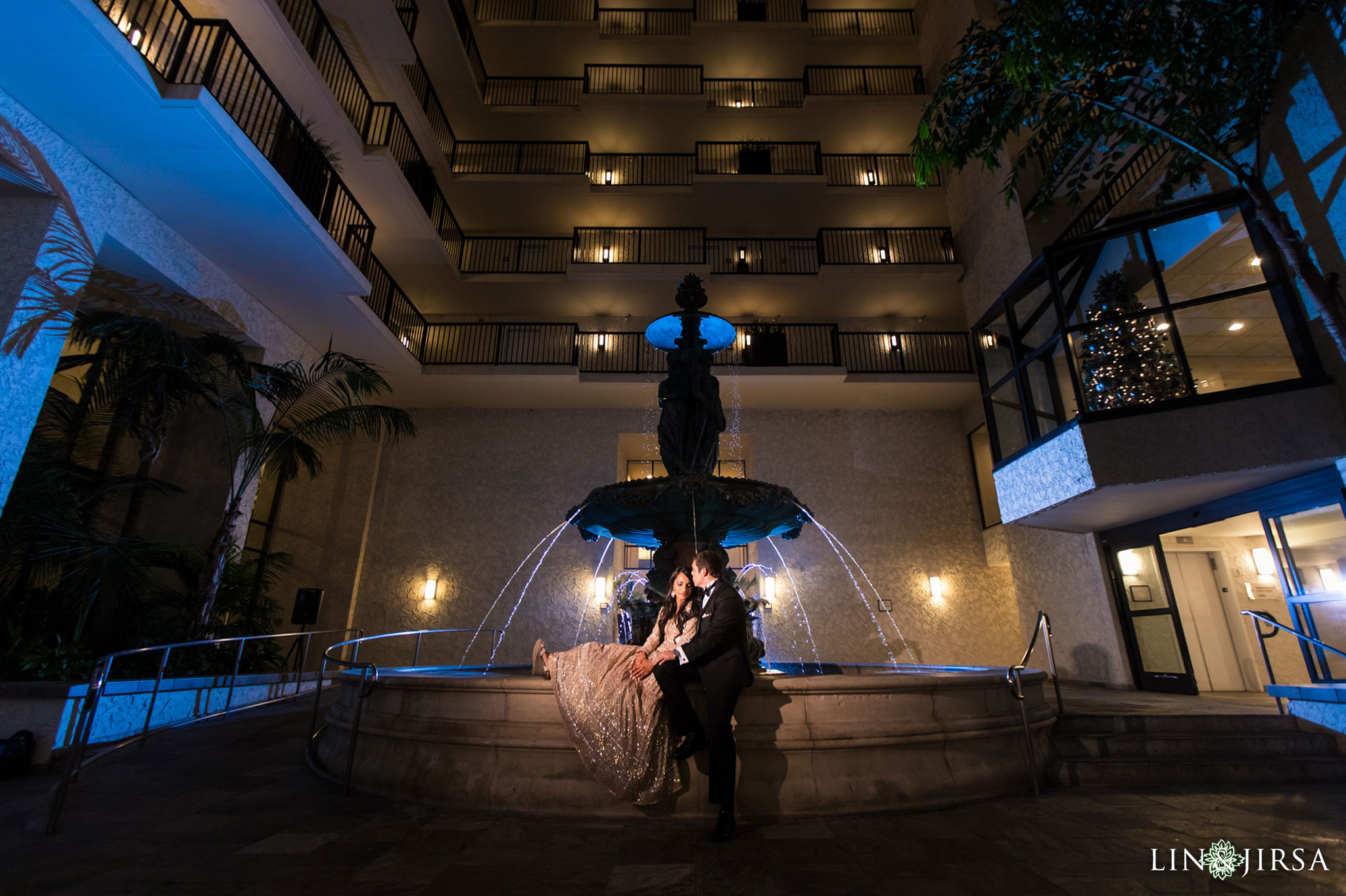 58 newport beach marriott hotel indian wedding reception photography