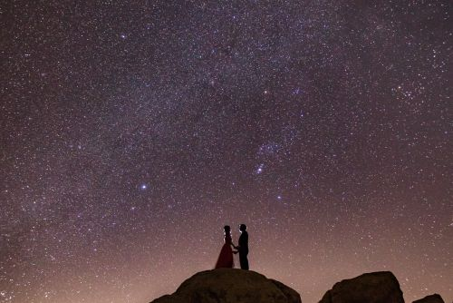 0 joshua tree national park milky way stars engagement photography