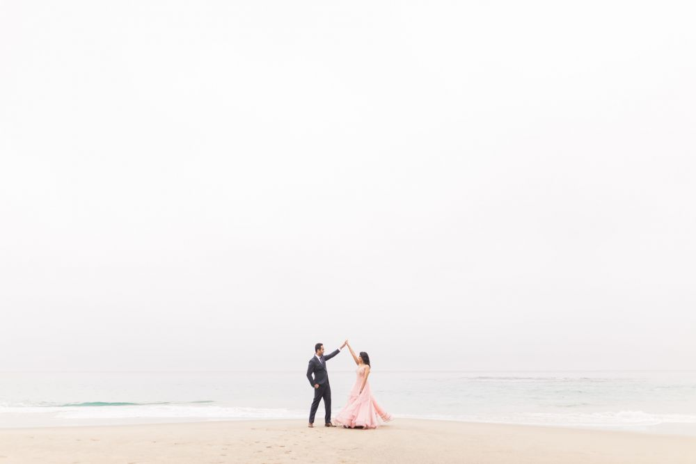 00 laguna beach sunrise private mansion engagement photography