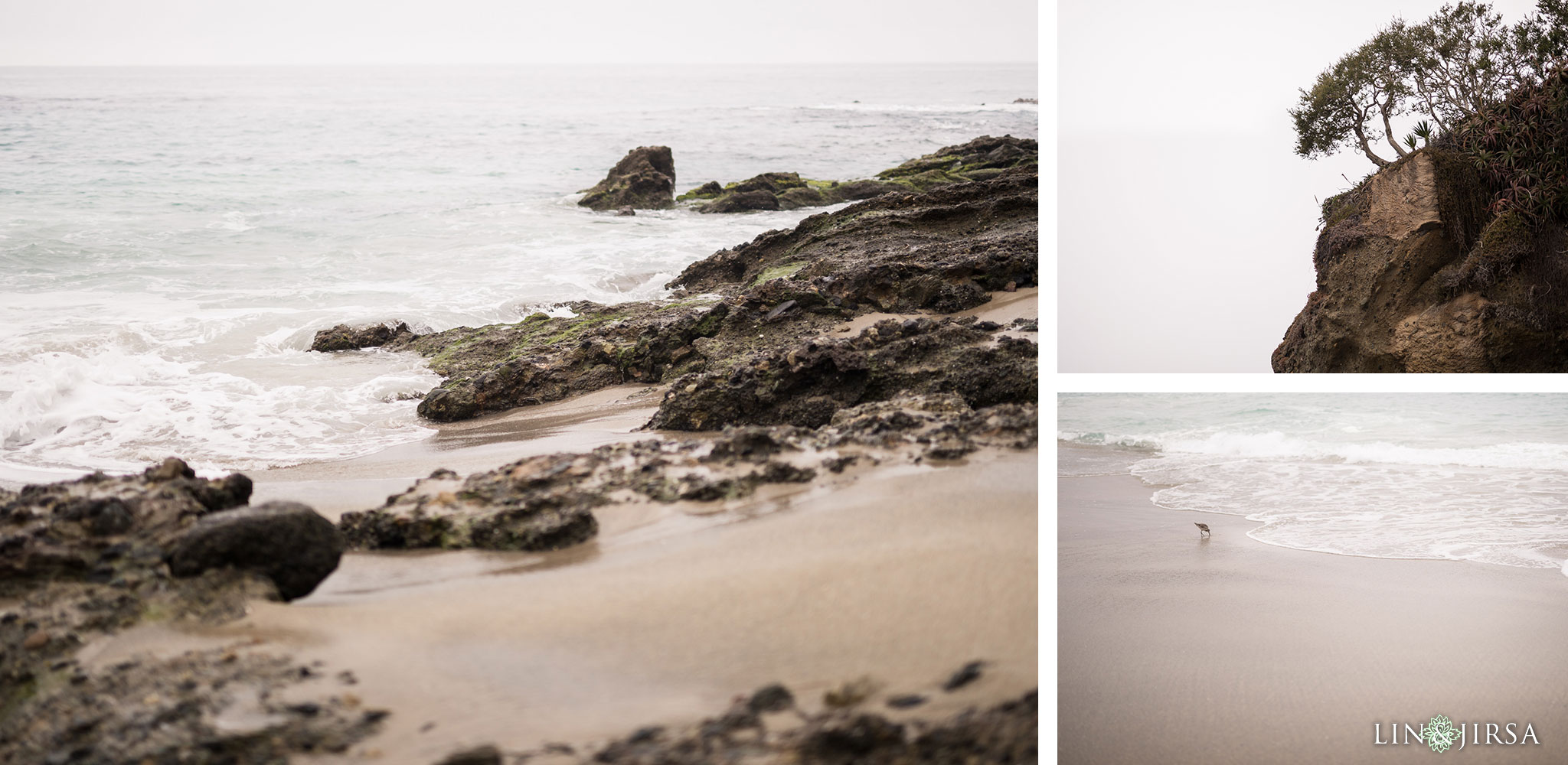 03 laguna beach sunrise private mansion engagement photography