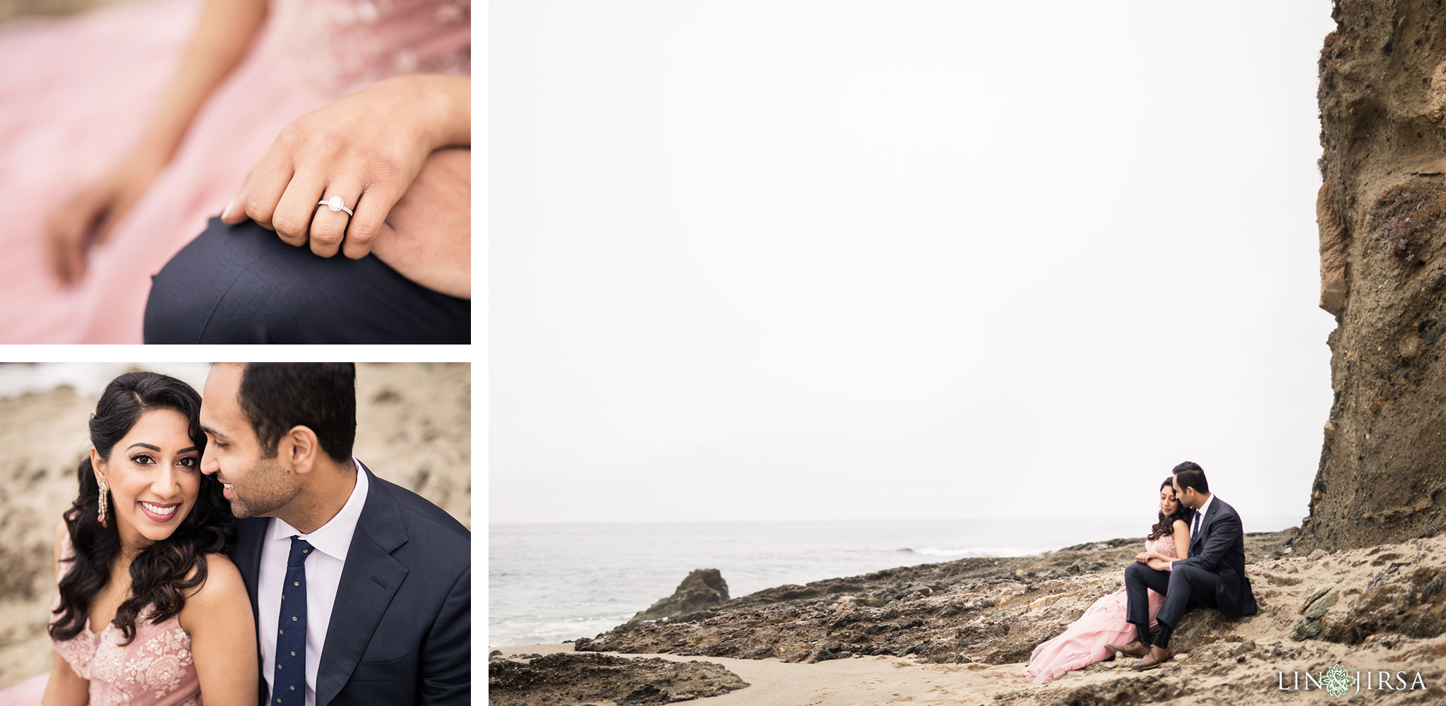 04 laguna beach sunrise private mansion engagement photography