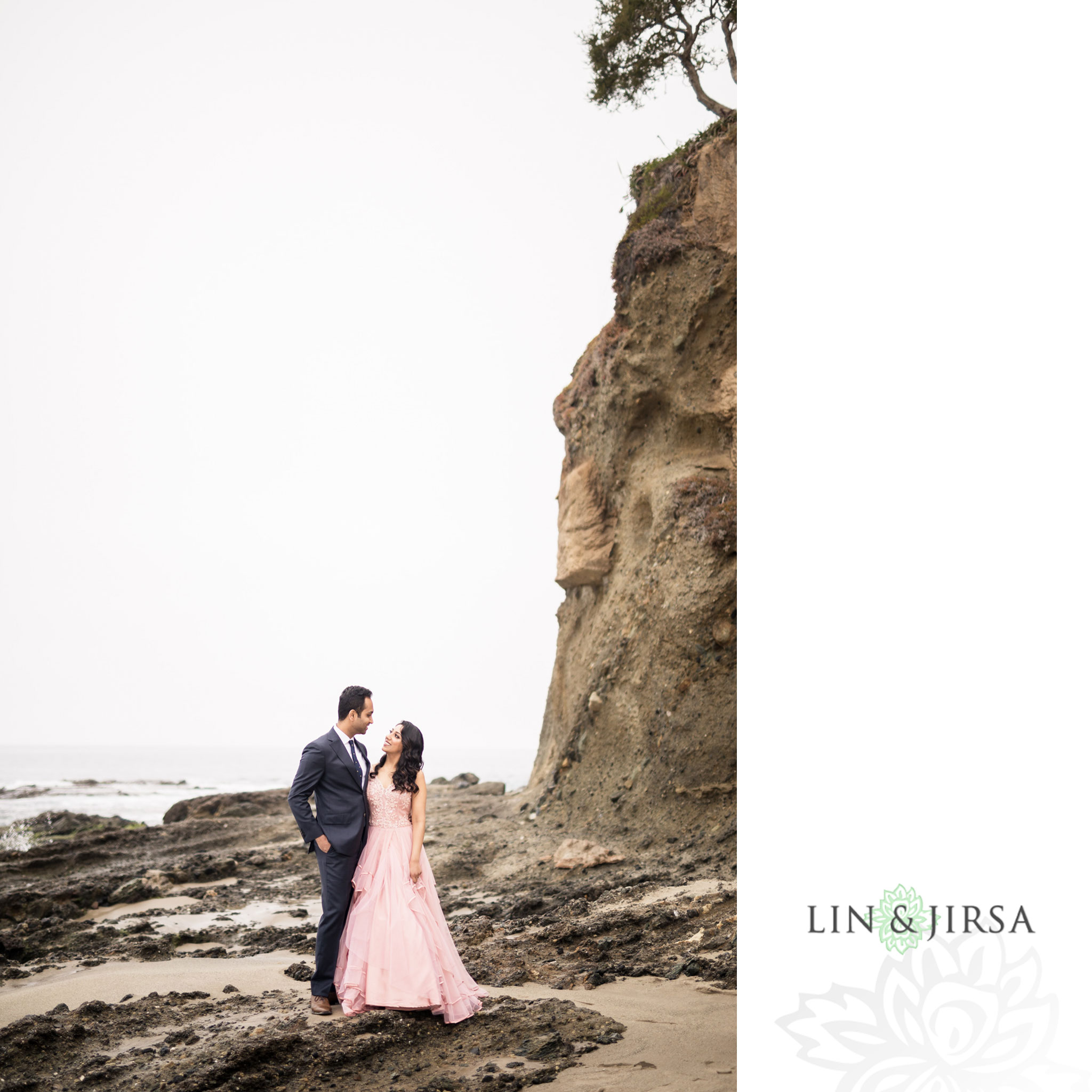 05 laguna beach sunrise private mansion engagement photography